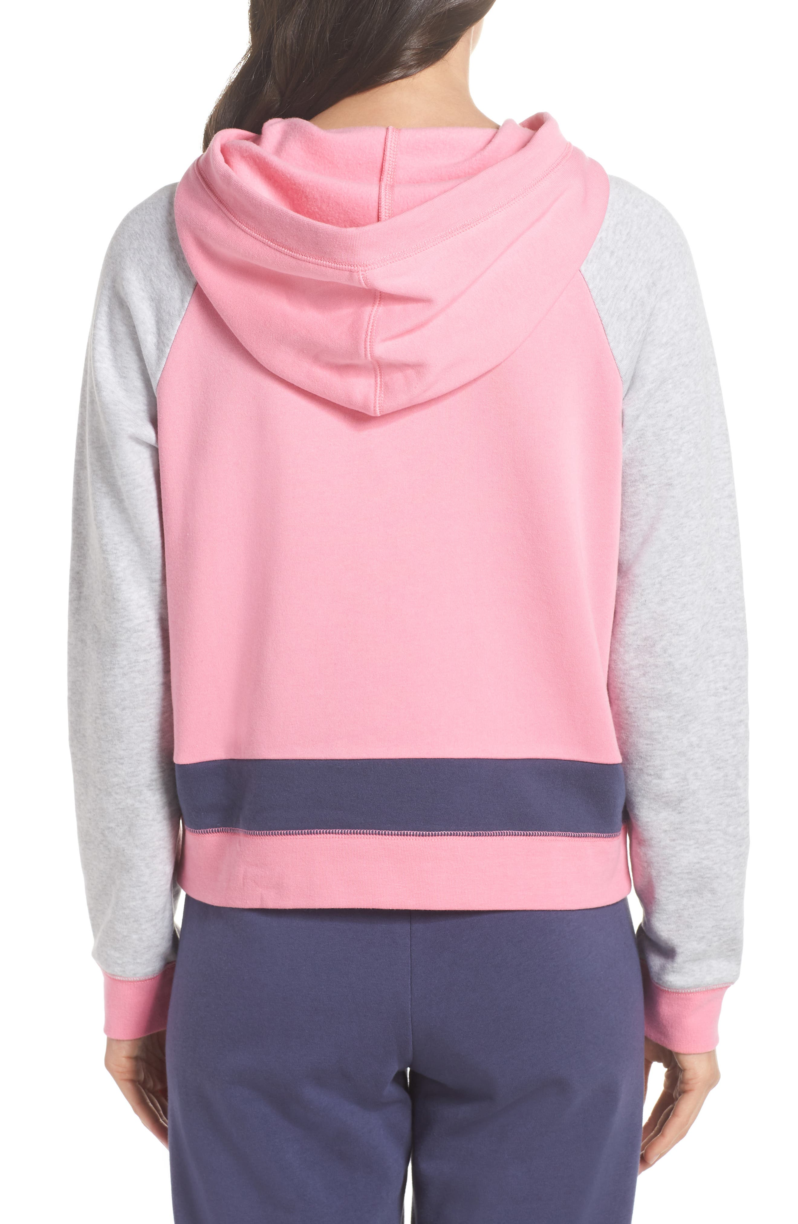 Sleepy Fleece Hoodie,                             Alternate thumbnail 2, color,                             660