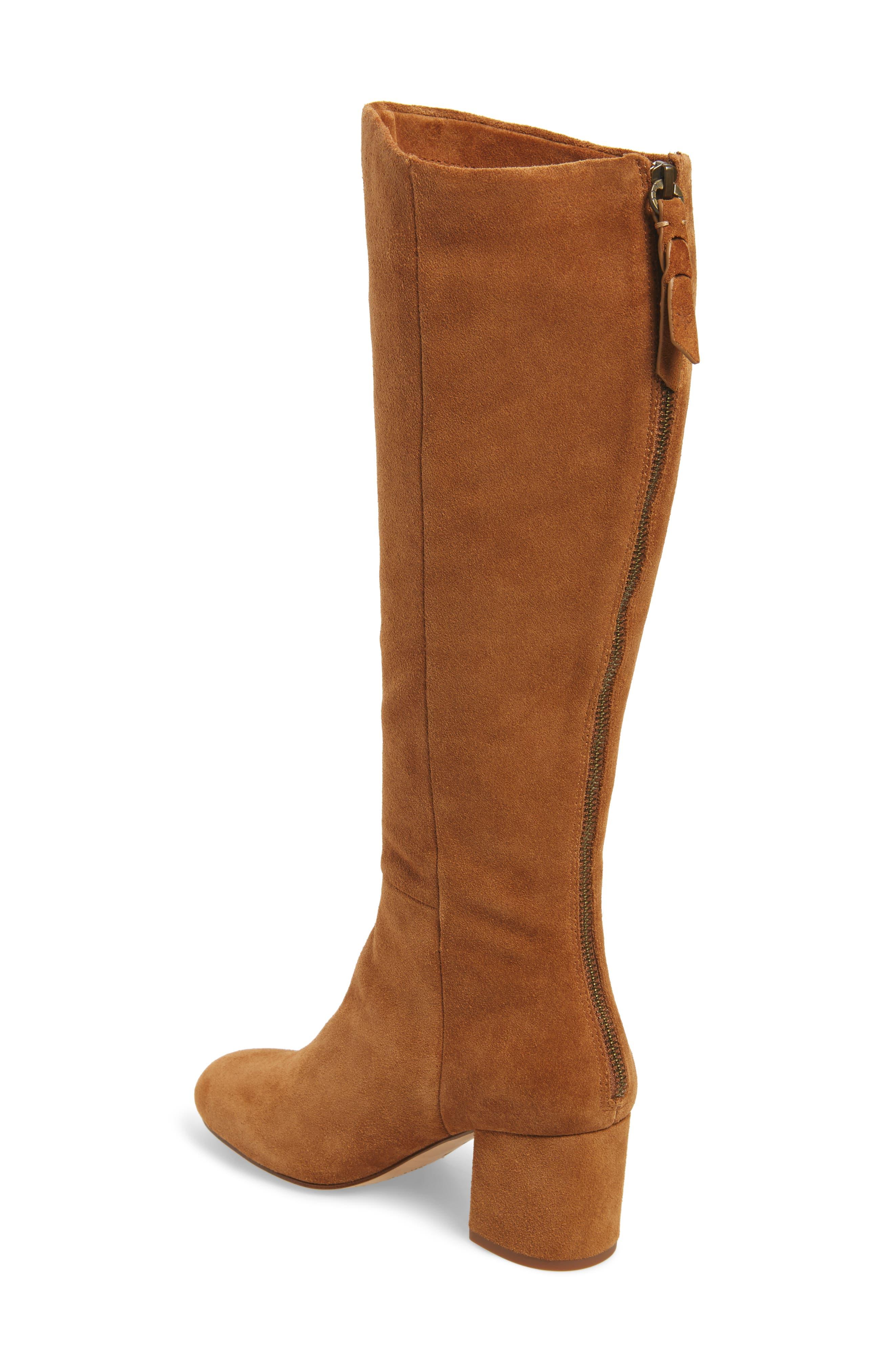 Danise Knee High Boot,                             Alternate thumbnail 4, color,