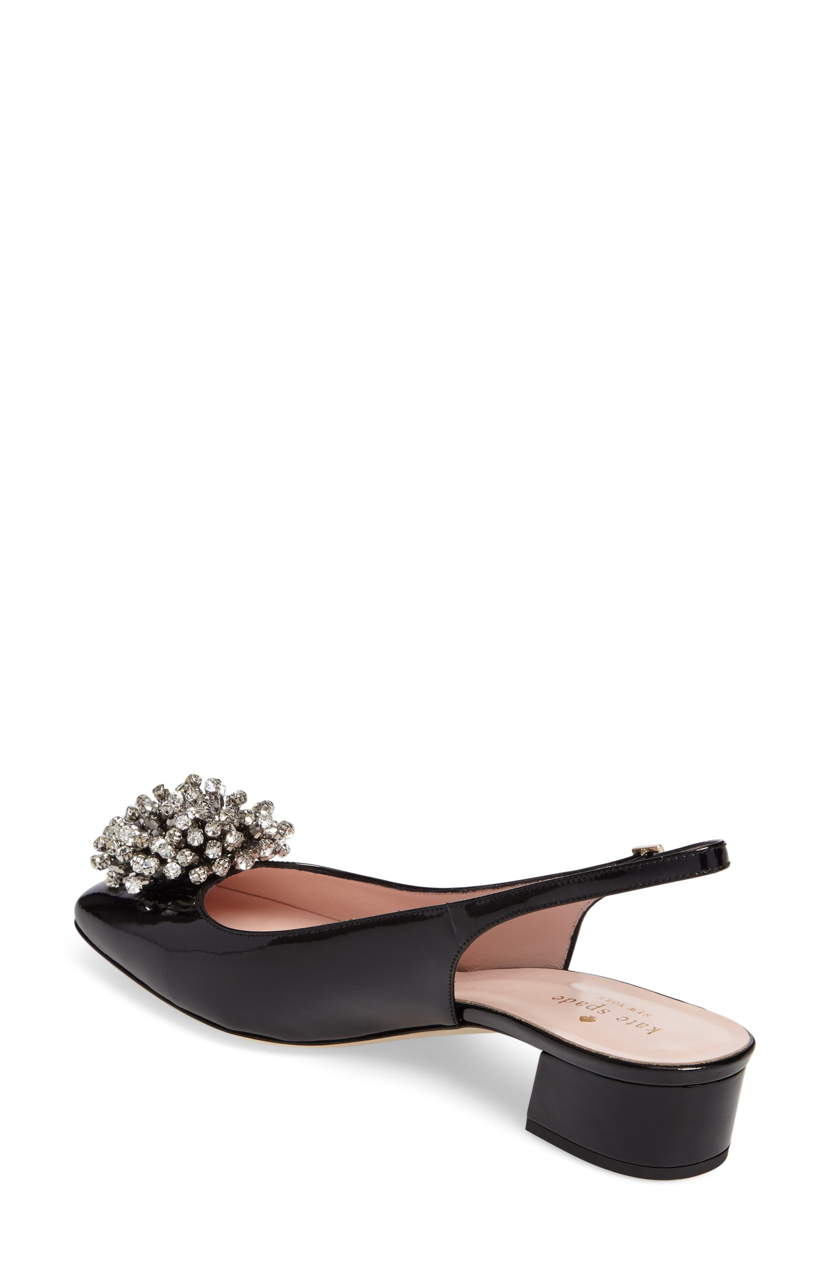 maren slingback pump,                             Alternate thumbnail 2, color,                             001
