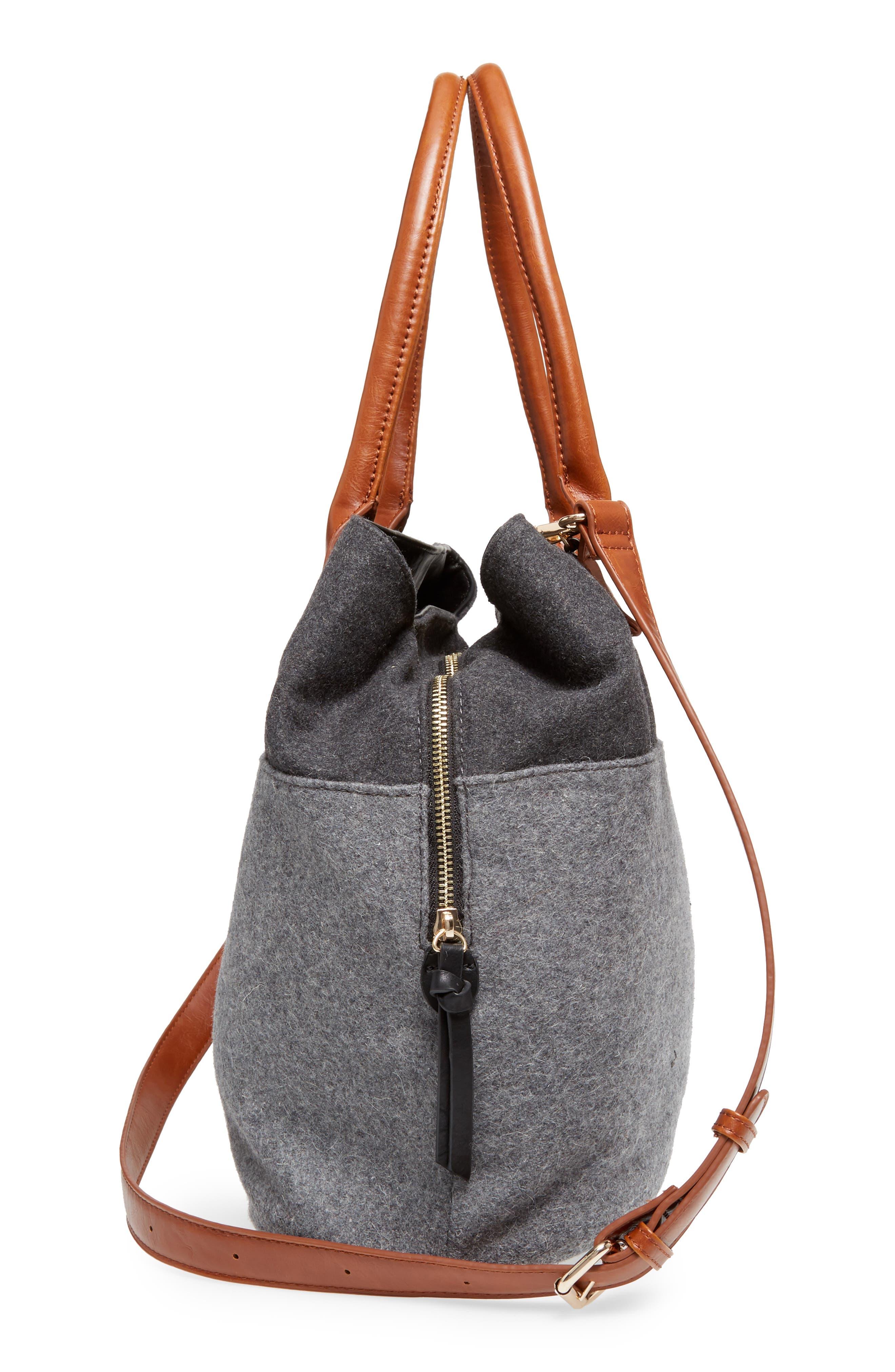 Chasity Duffel Bag,                             Alternate thumbnail 5, color,                             001