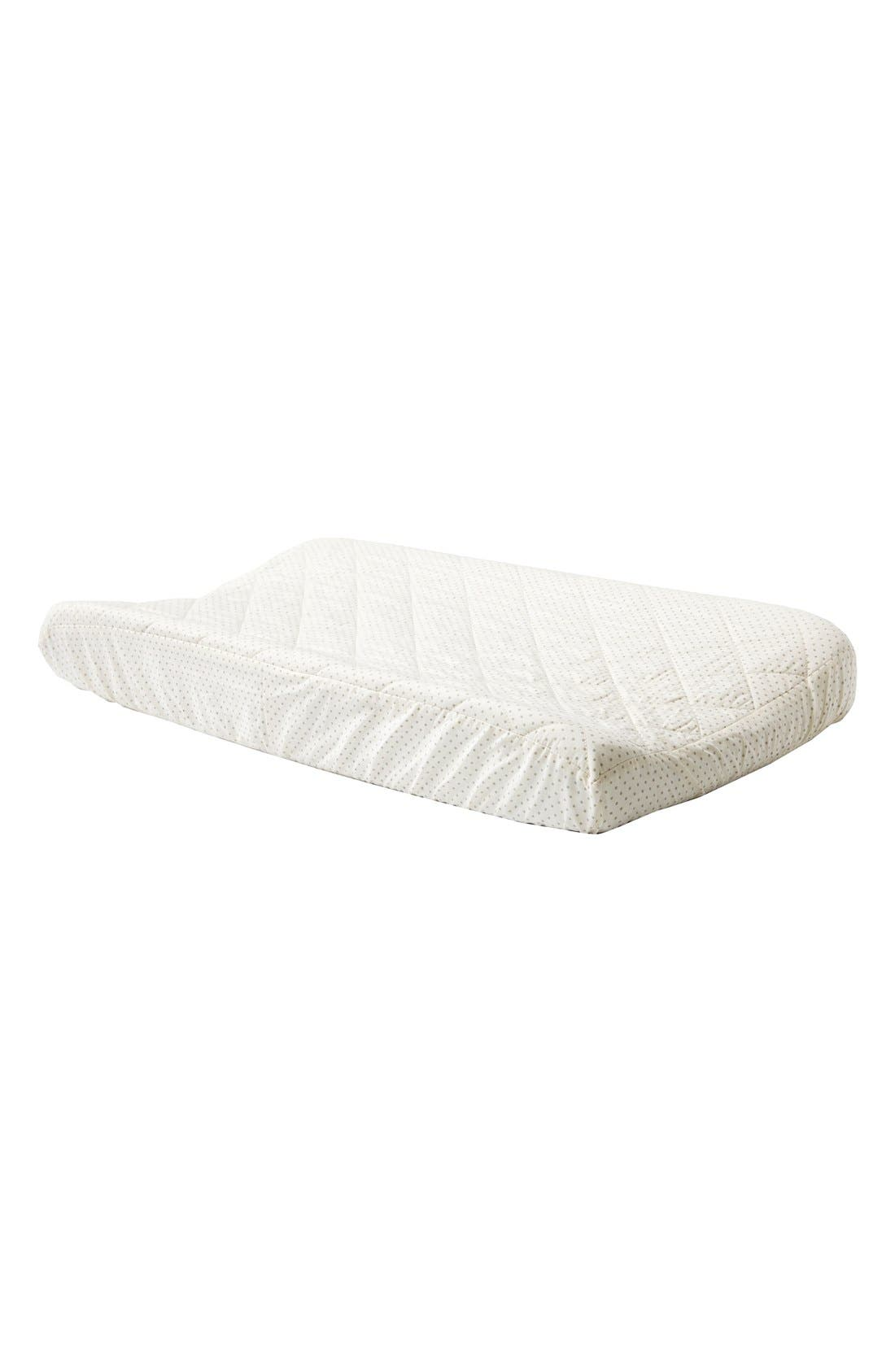 Brushed Cotton Changing Pad Cover,                             Main thumbnail 2, color,