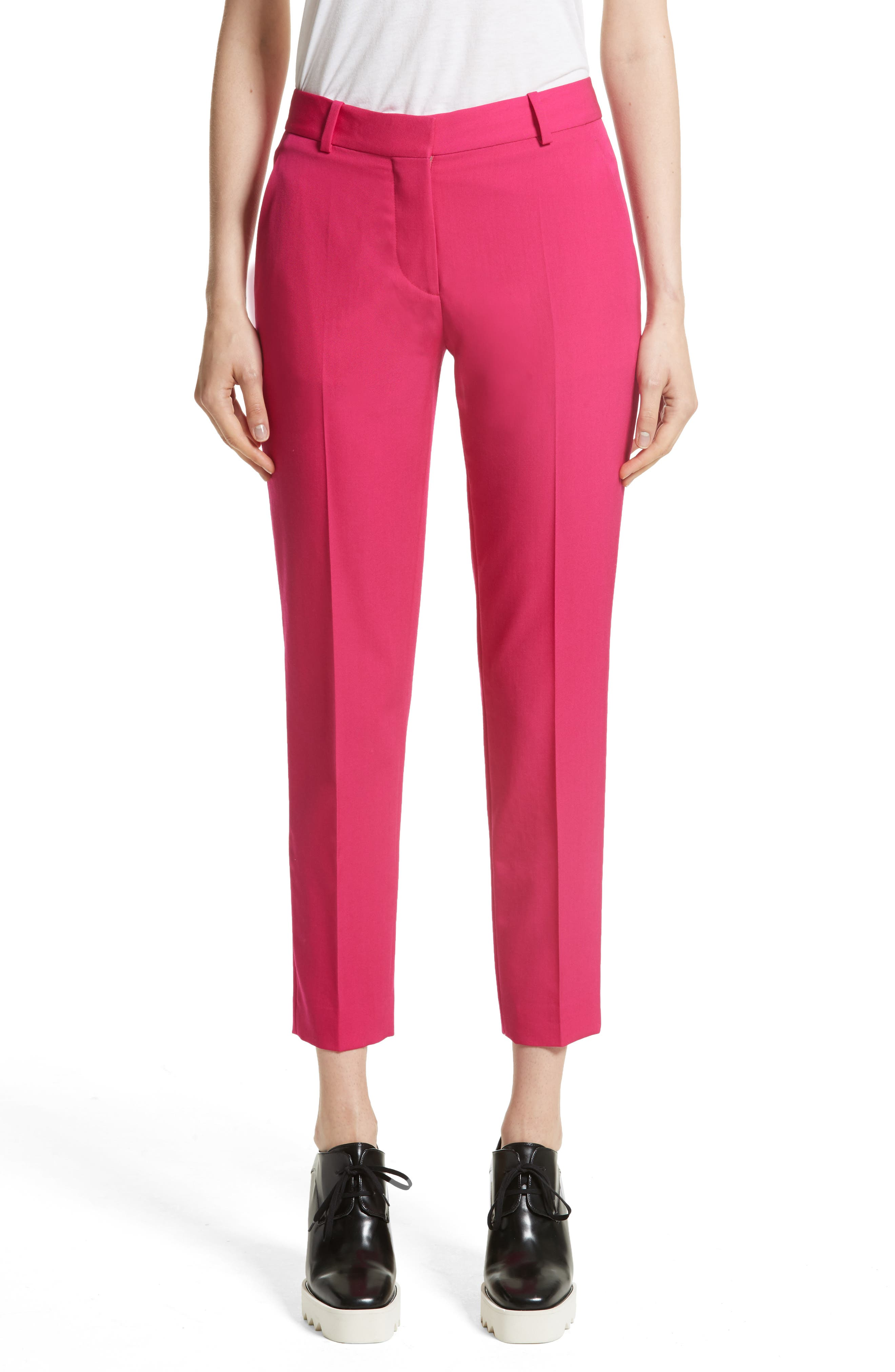 Wool Ankle Pants,                         Main,                         color,