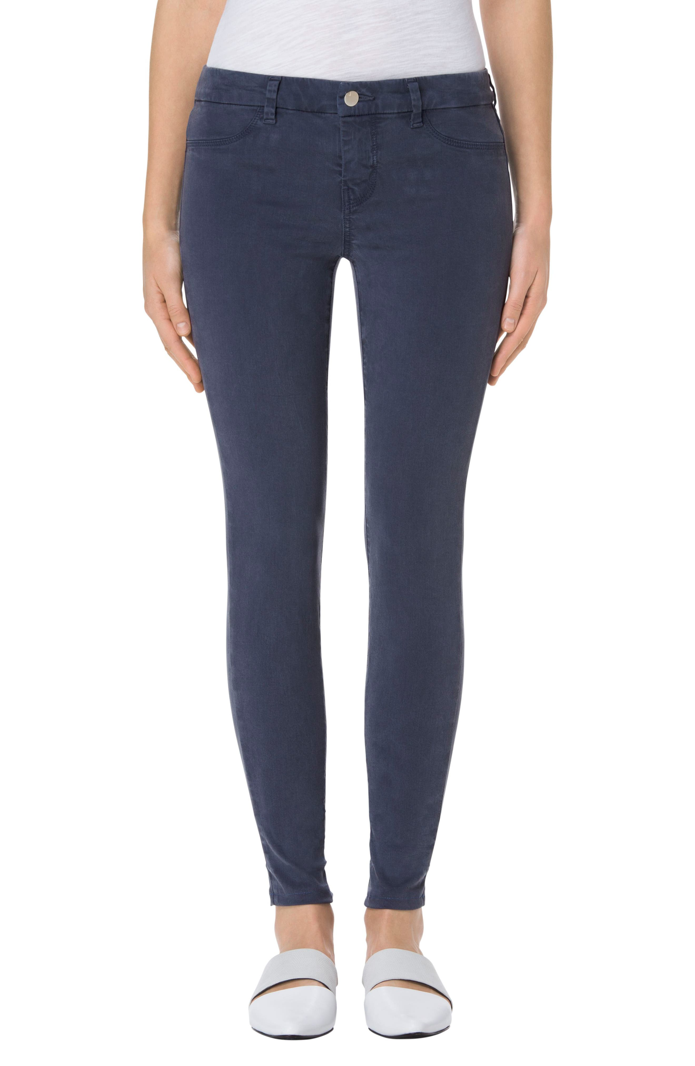 High Waist Ankle Super Skinny Jeans,                             Main thumbnail 15, color,