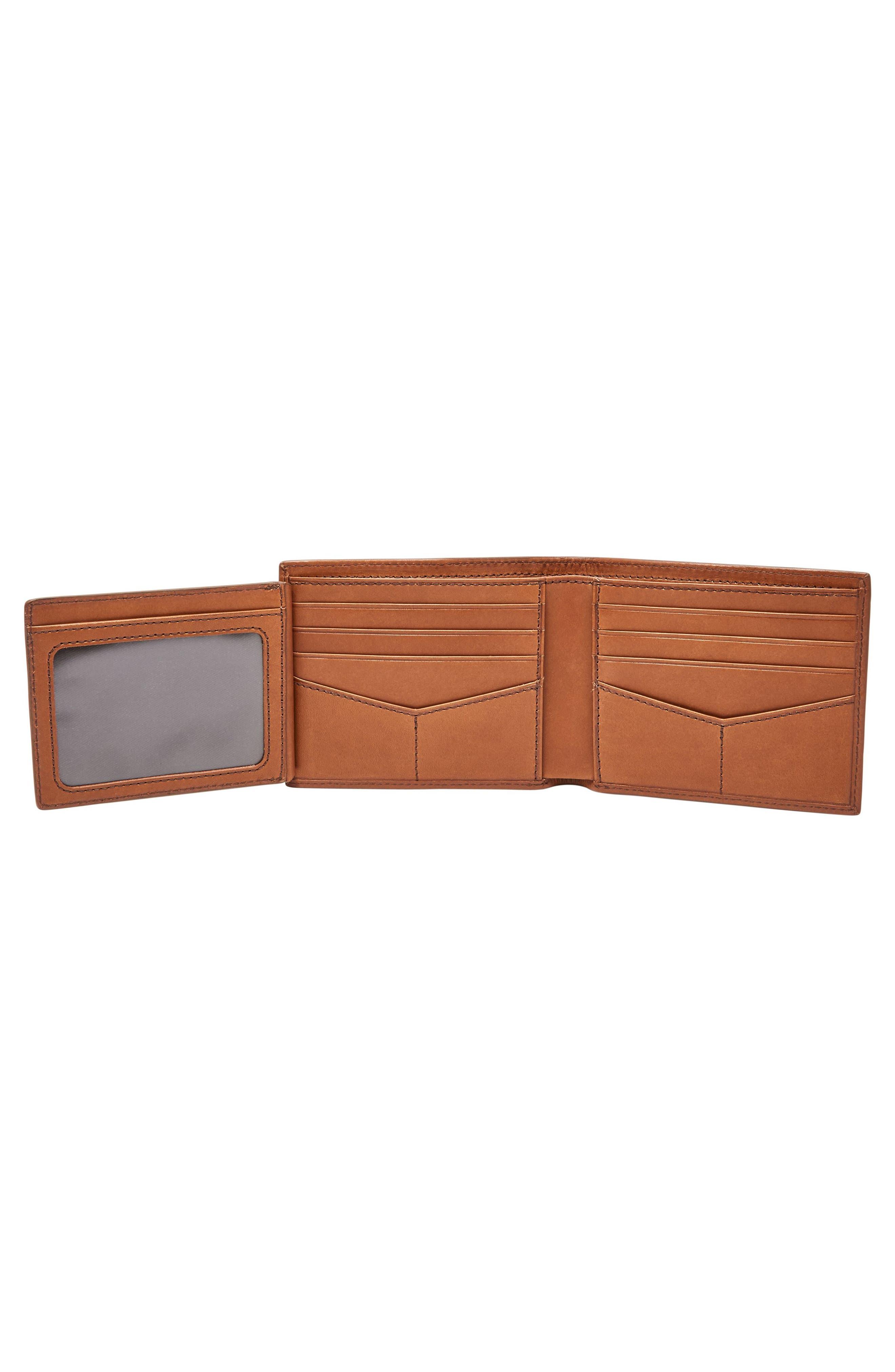 Paul Leather Wallet,                             Alternate thumbnail 3, color,                             222