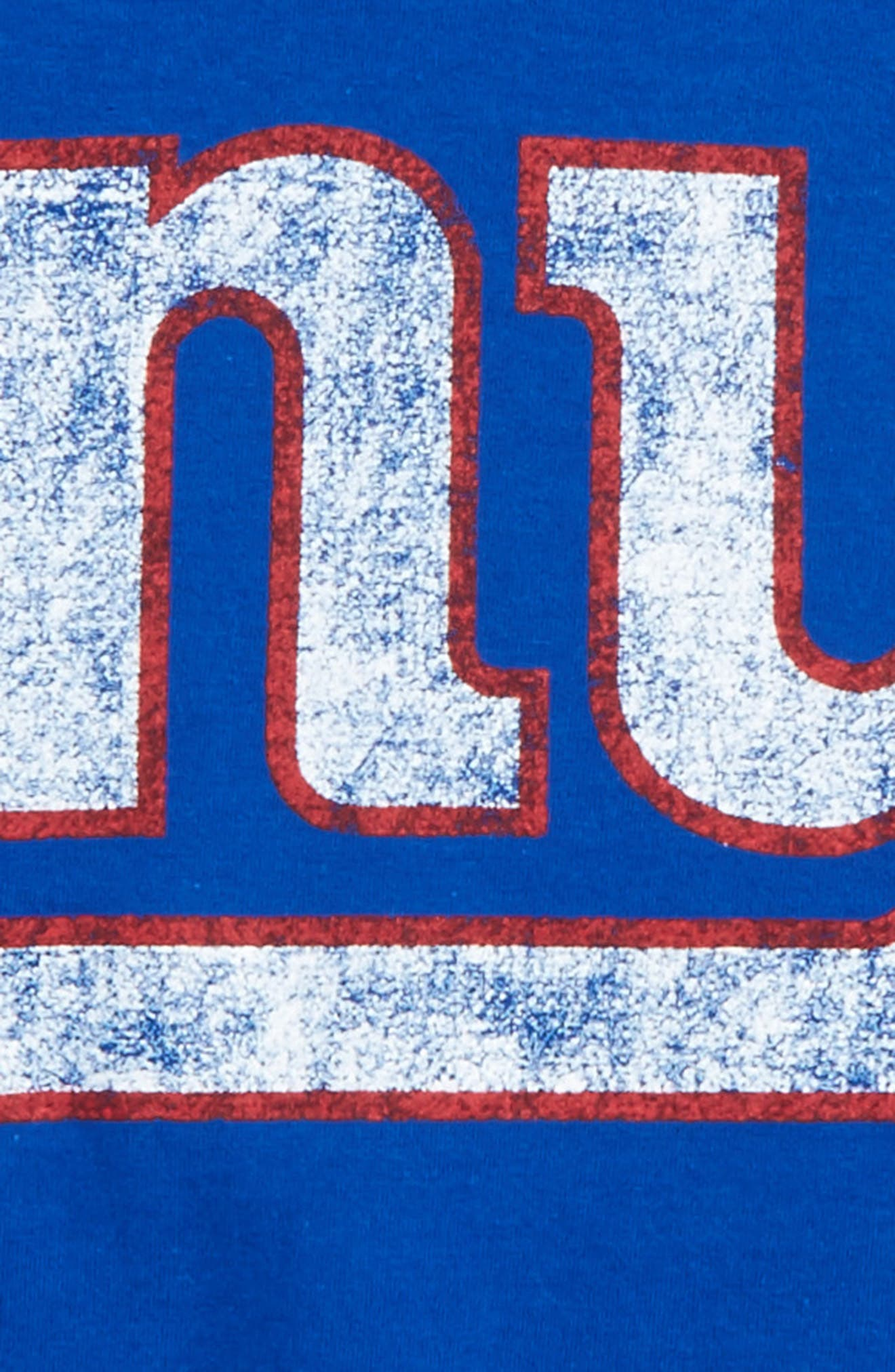 NFL - New York Giants Distressed Logo T-Shirt,                             Alternate thumbnail 2, color,                             400
