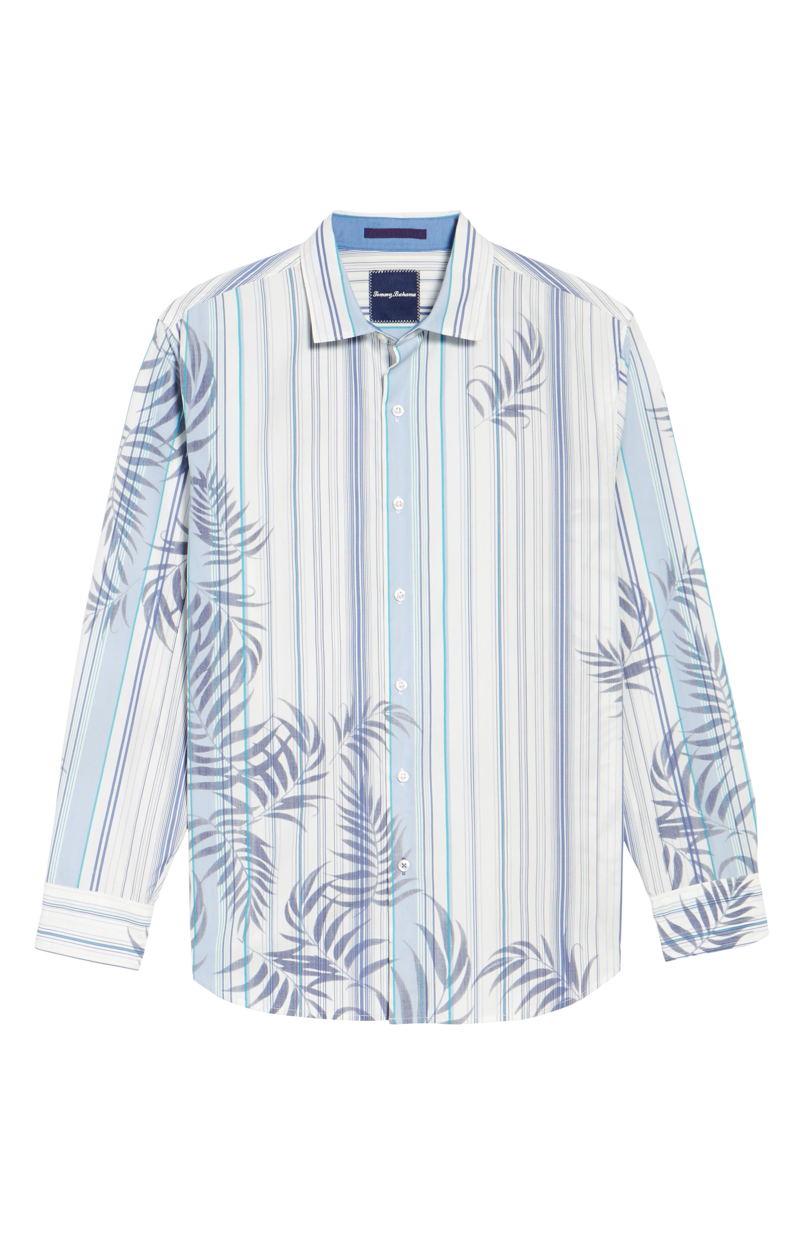 Frond with the Wind Sport Shirt,                             Alternate thumbnail 6, color,