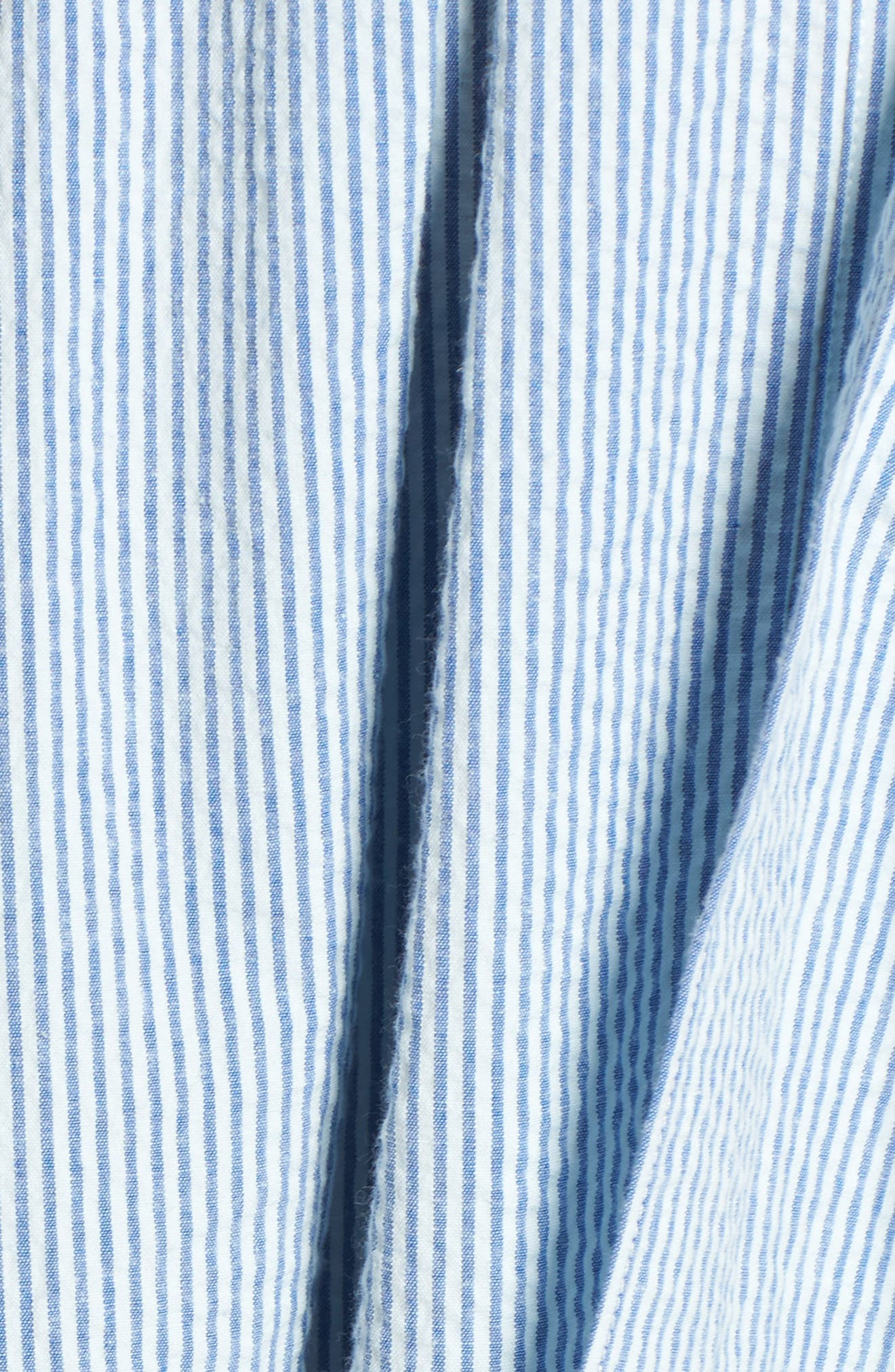 Seersucker Shirtdress,                             Alternate thumbnail 6, color,                             420