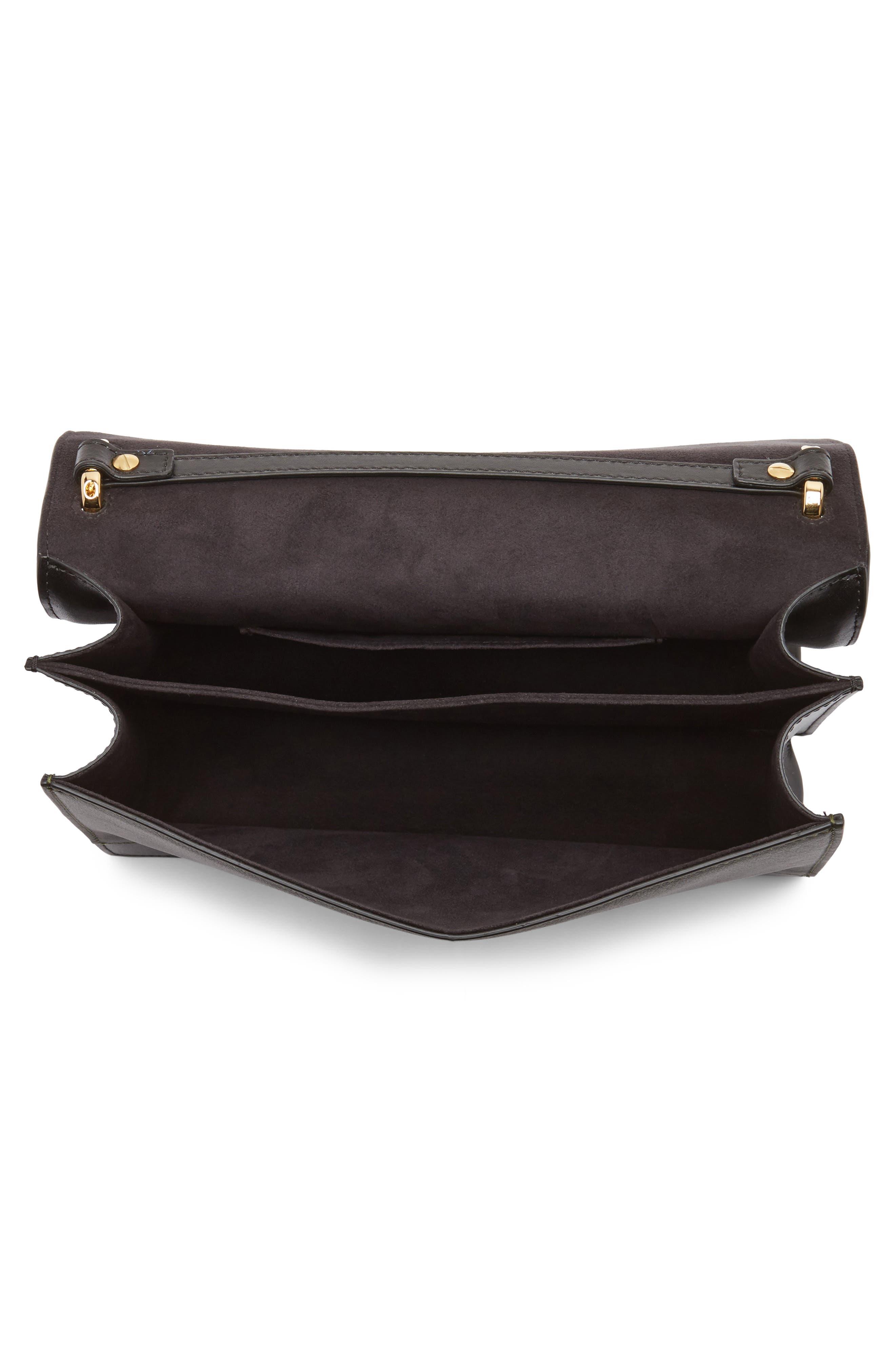 Kan I Genuine Calf Hair & Leather Shoulder Bag,                             Alternate thumbnail 4, color,                             393
