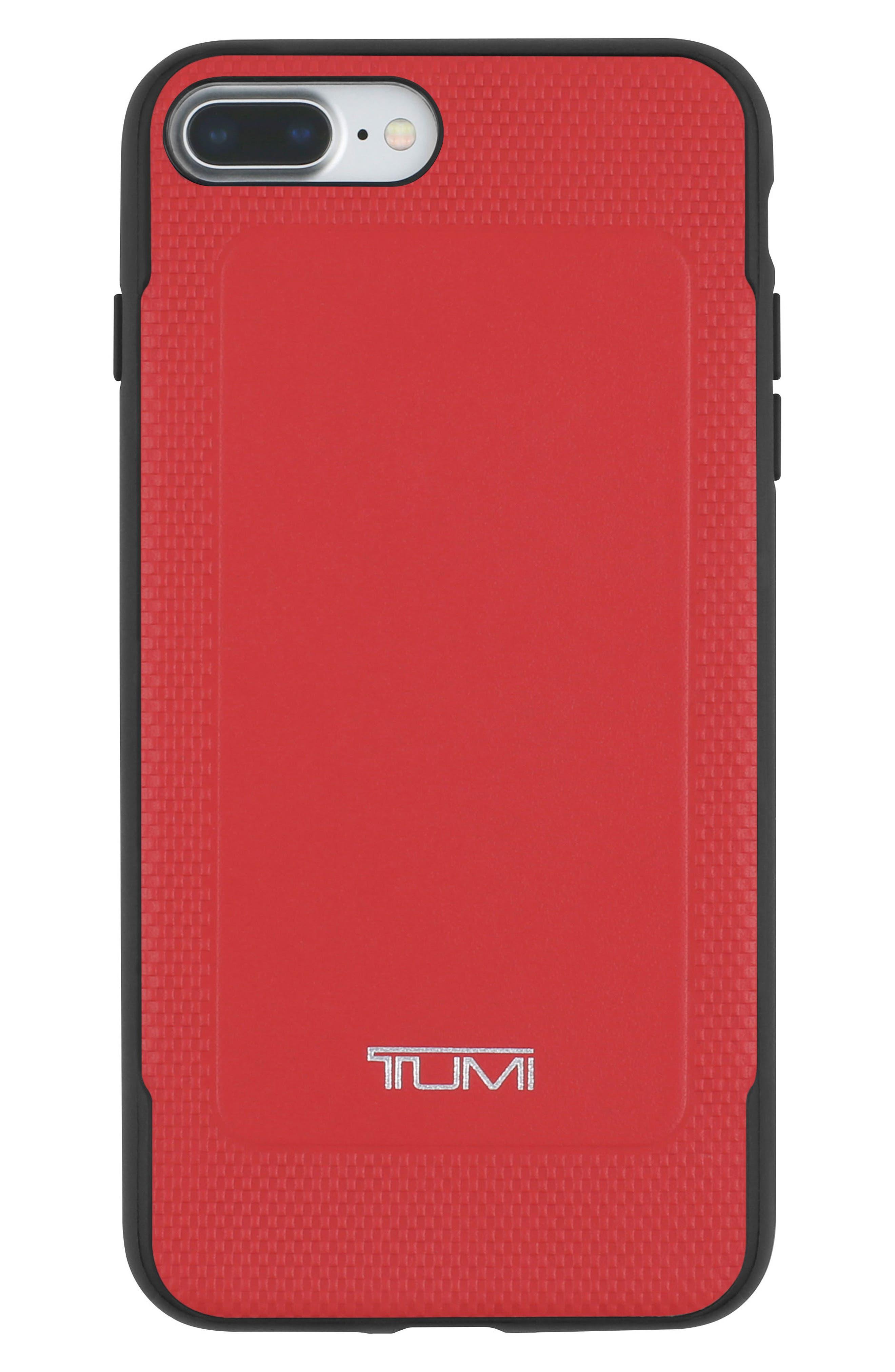 Leather iPhone 8 Plus Case,                             Main thumbnail 2, color,