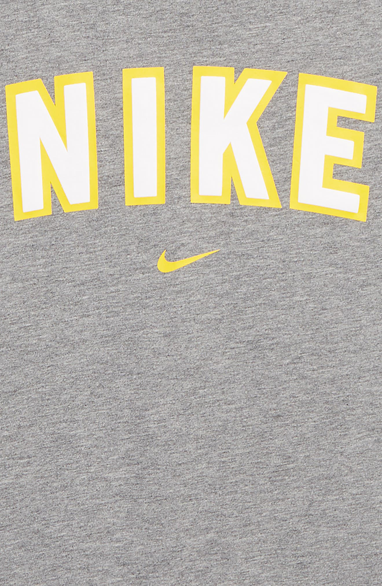 Sportswear Logo T-Shirt,                             Alternate thumbnail 2, color,                             CARBON HEATHER