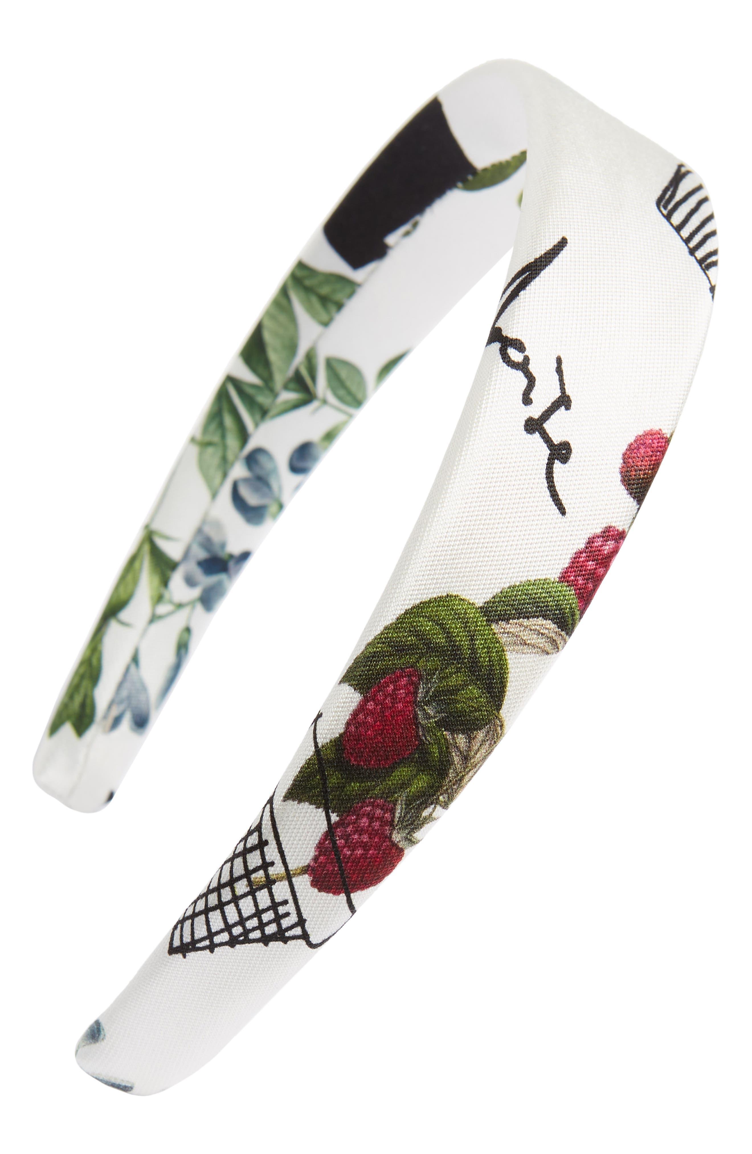 Flower Pots on Mikado Headband,                         Main,                         color, 120