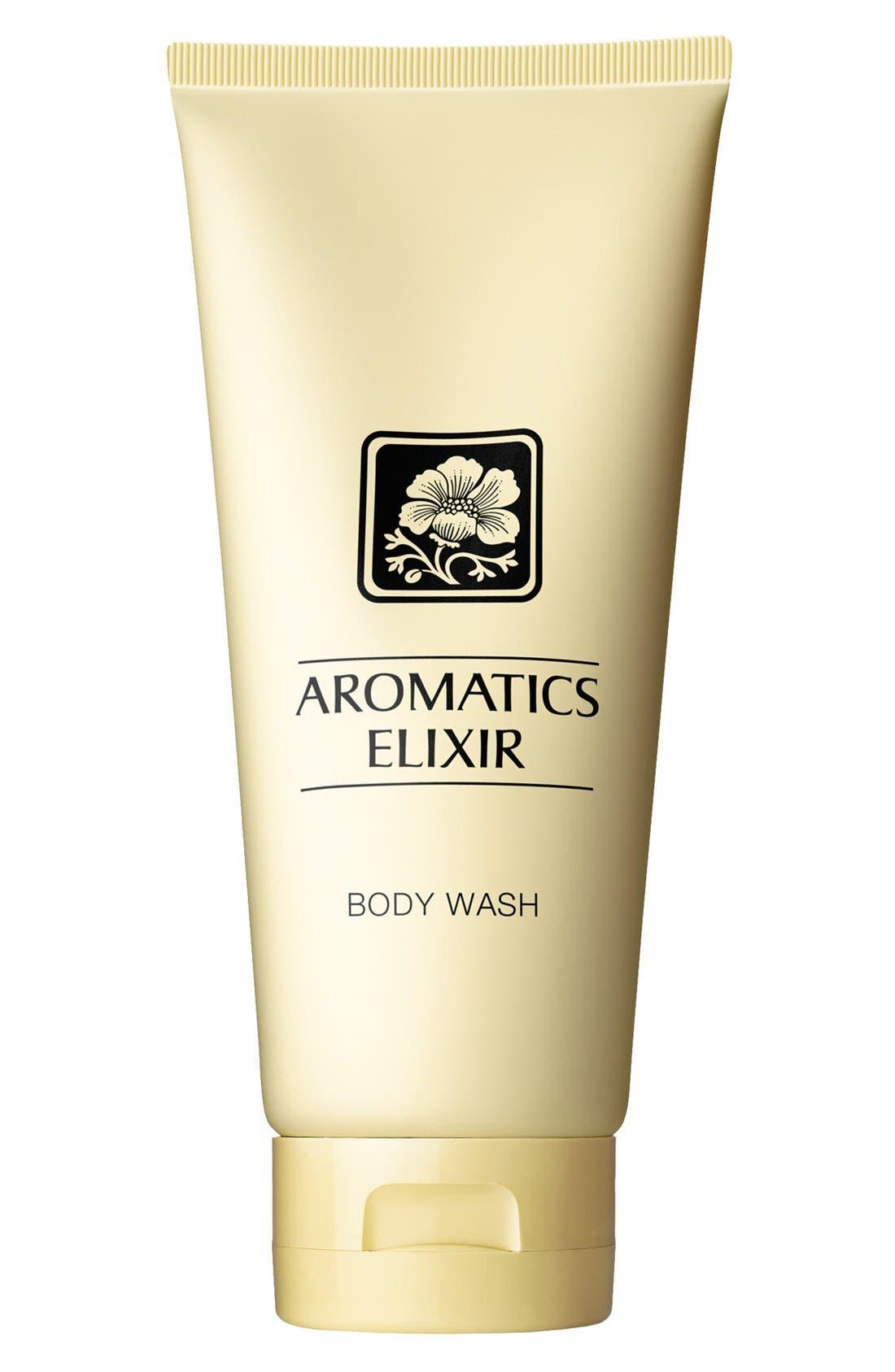 CLINIQUE,                             Aromatics Elixir Body Wash,                             Main thumbnail 1, color,                             NO COLOR