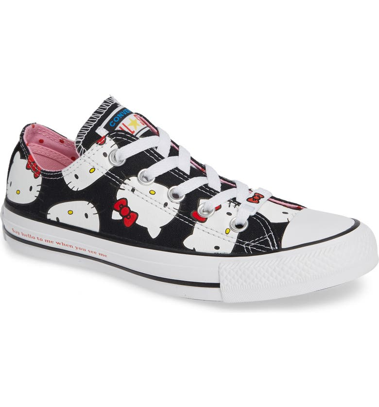 Converse Chuck Taylor® All Star® Hello Kitty Sneaker (Women)  587d7d598