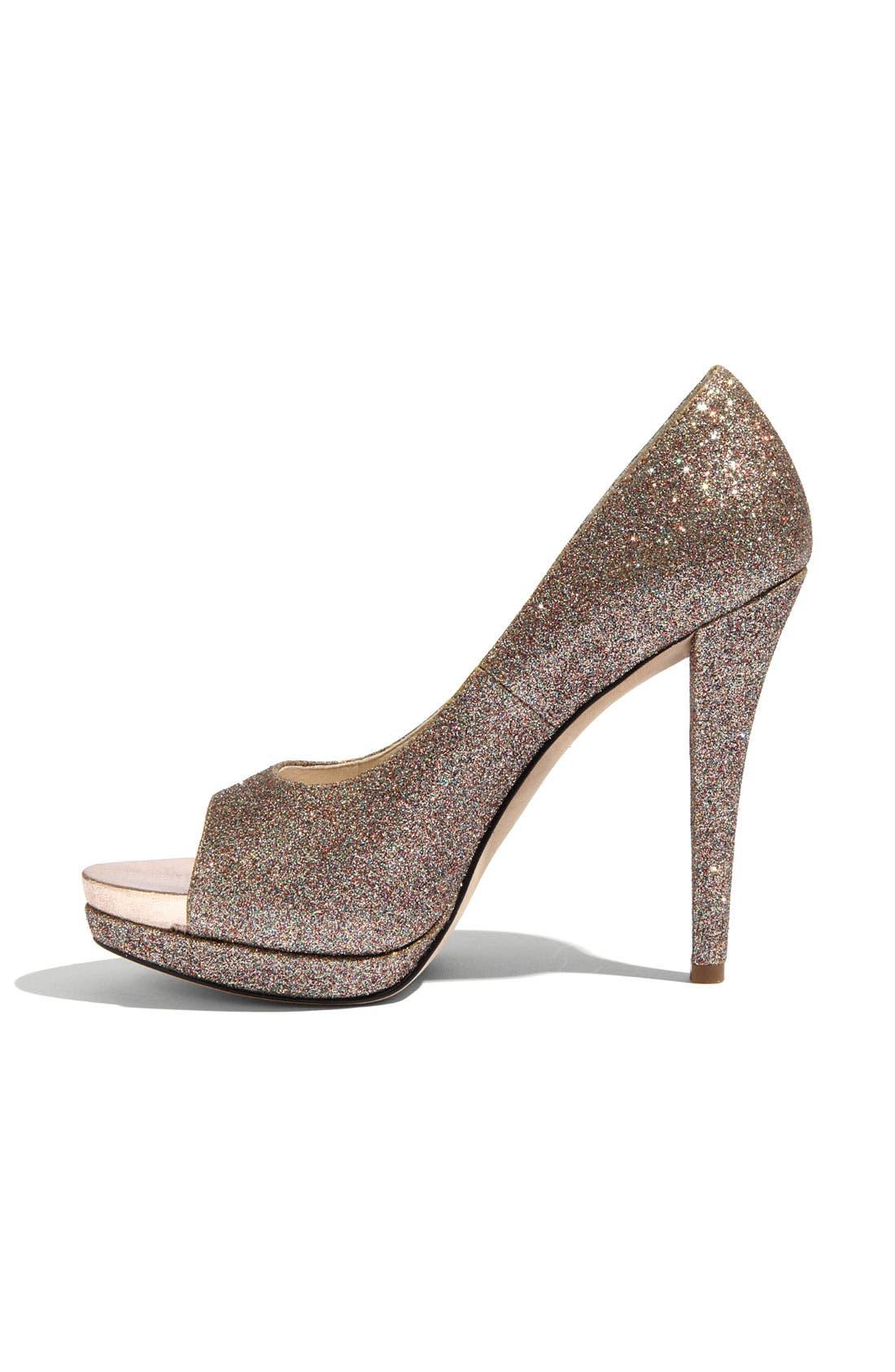 Footwear 'Selima' Peep Toe Pump,                             Alternate thumbnail 23, color,