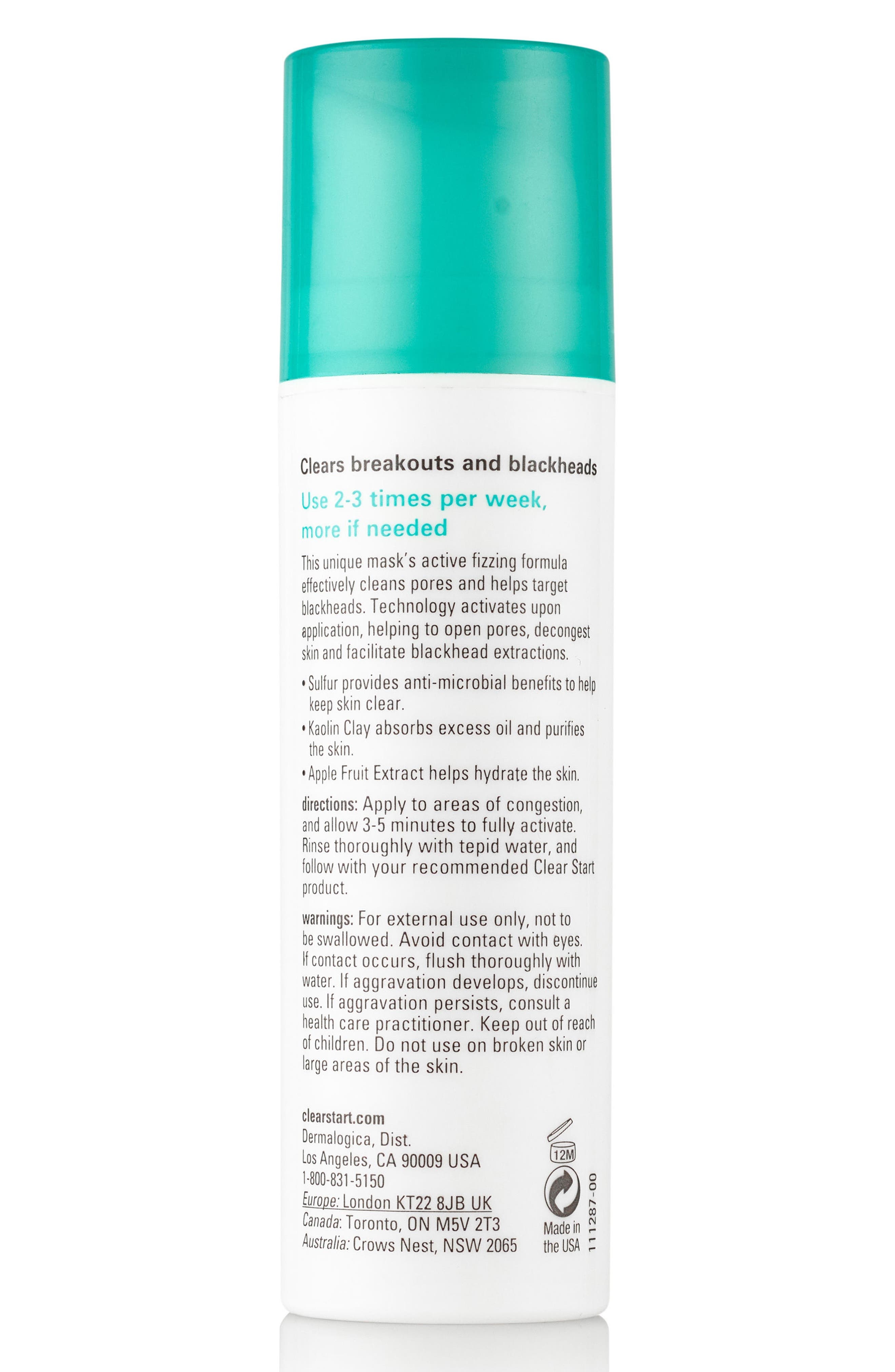 Clear Start<sup>™</sup> Blackhead Clearing Fizz Mask,                             Alternate thumbnail 4, color,                             NO COLOR