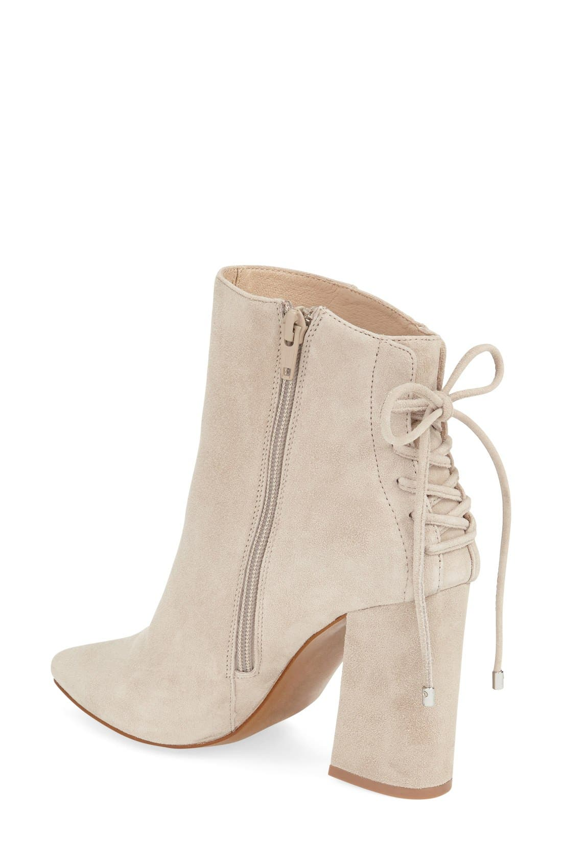 'Siren' Pointy Toe Bootie,                             Alternate thumbnail 5, color,