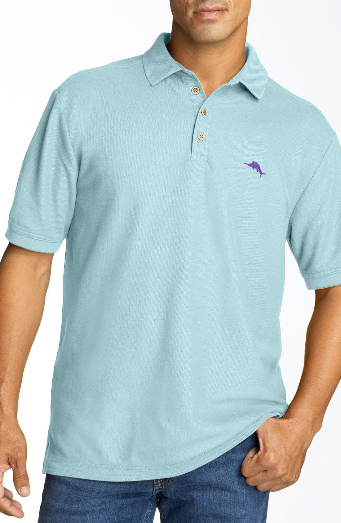 'The Emfielder' Original Fit Piqué Polo,                             Main thumbnail 62, color,