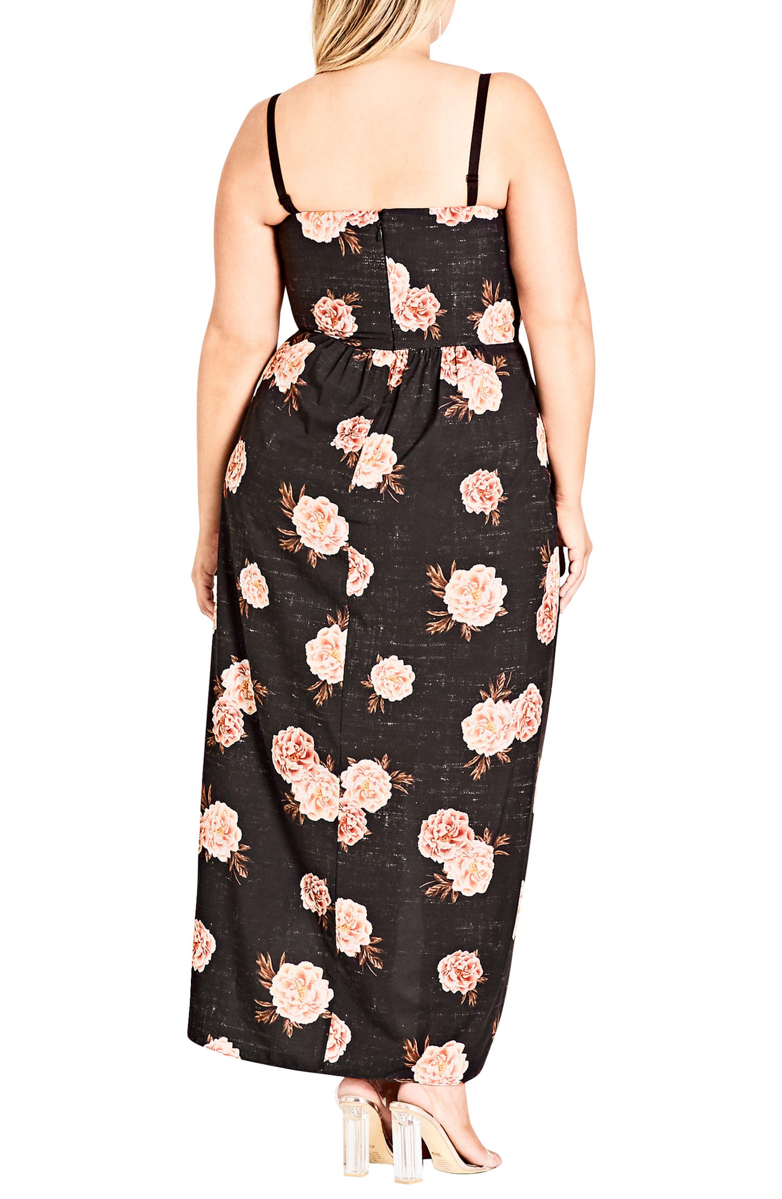 Antique Rose Maxi Dress,                             Alternate thumbnail 2, color,                             ANTIQUE ROSE
