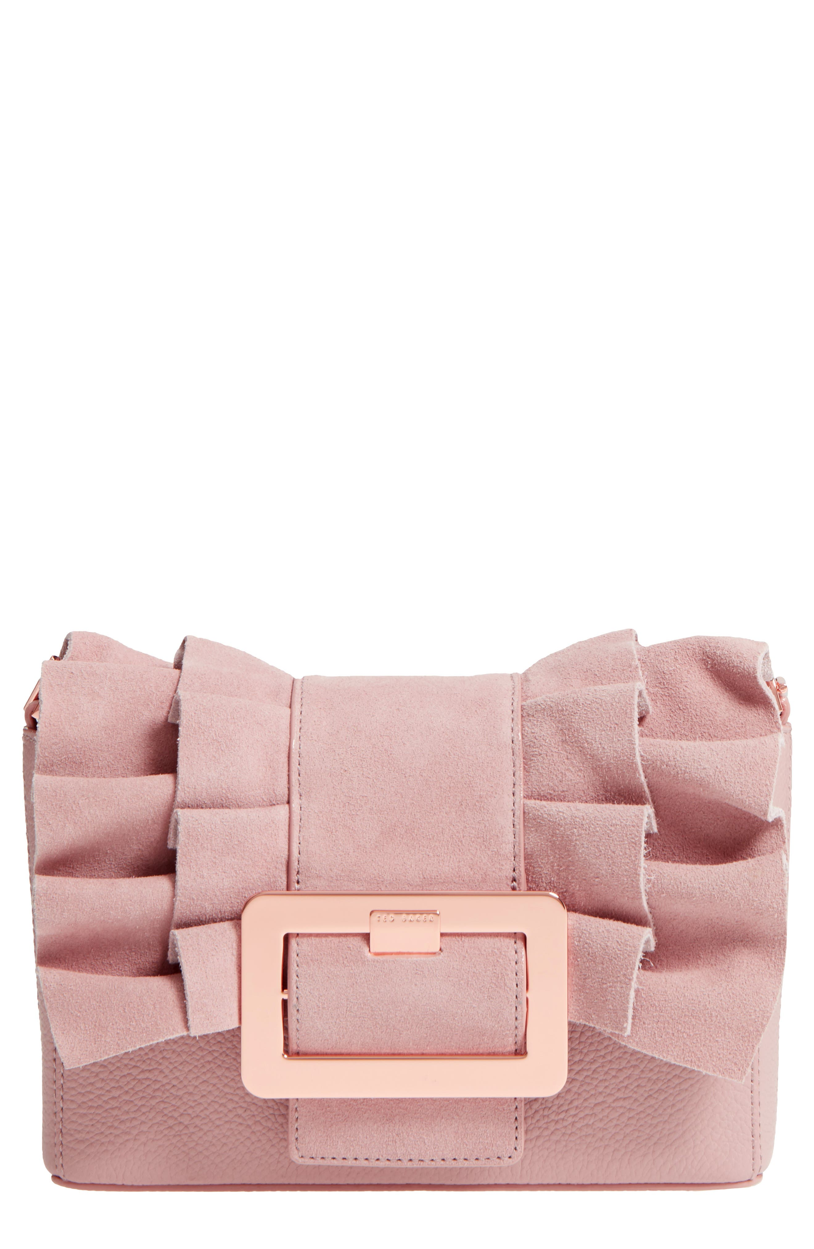 Nerinee Bow Buckle Clutch,                             Main thumbnail 3, color,
