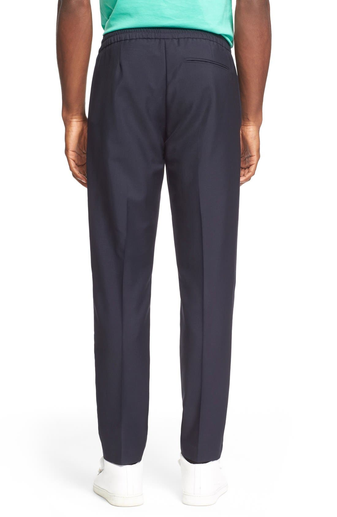 Ryder Wool Pants,                             Alternate thumbnail 3, color,                             NAVY