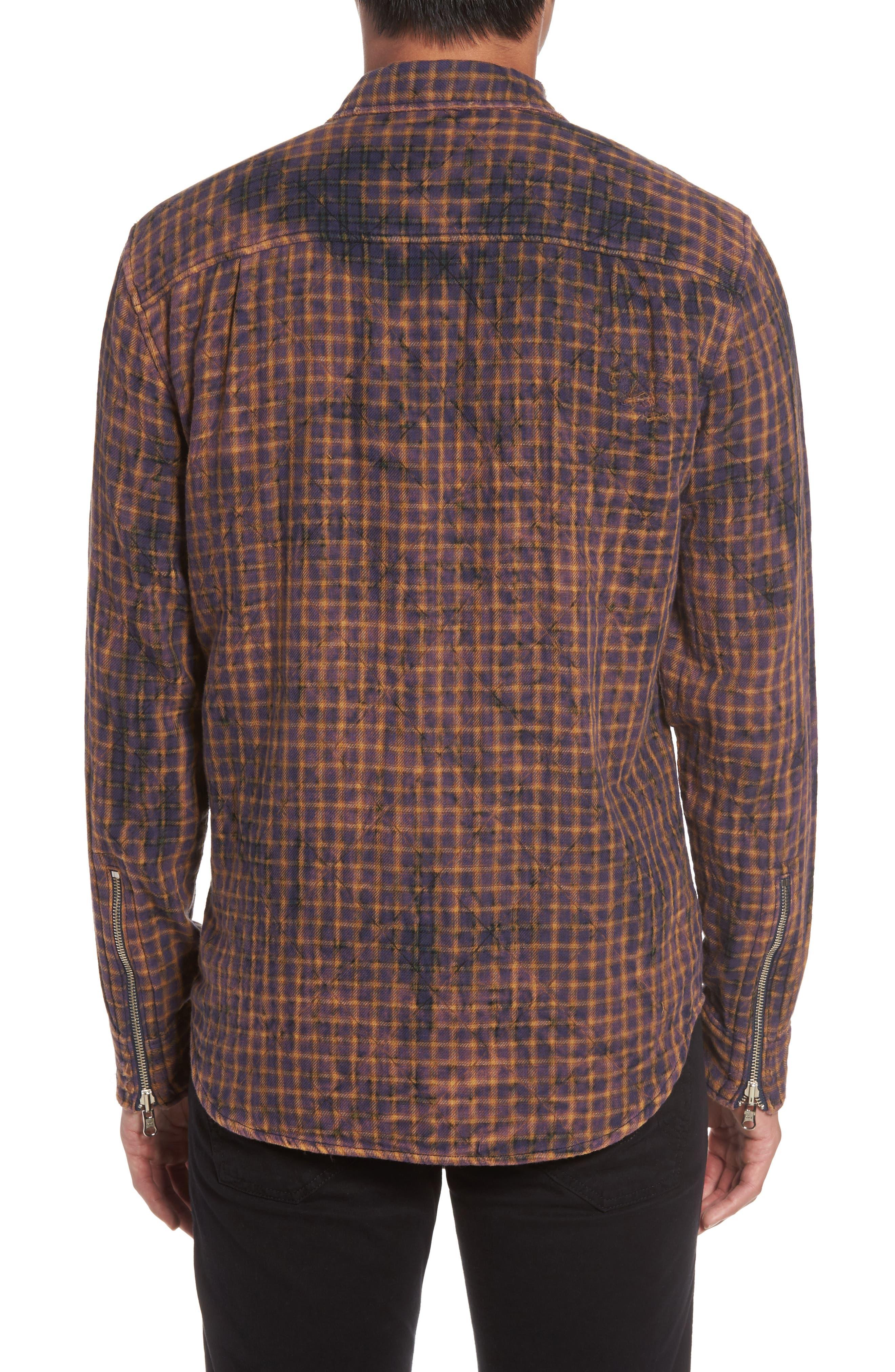 Slim Zip Front Sport Shirt,                             Alternate thumbnail 2, color,                             021