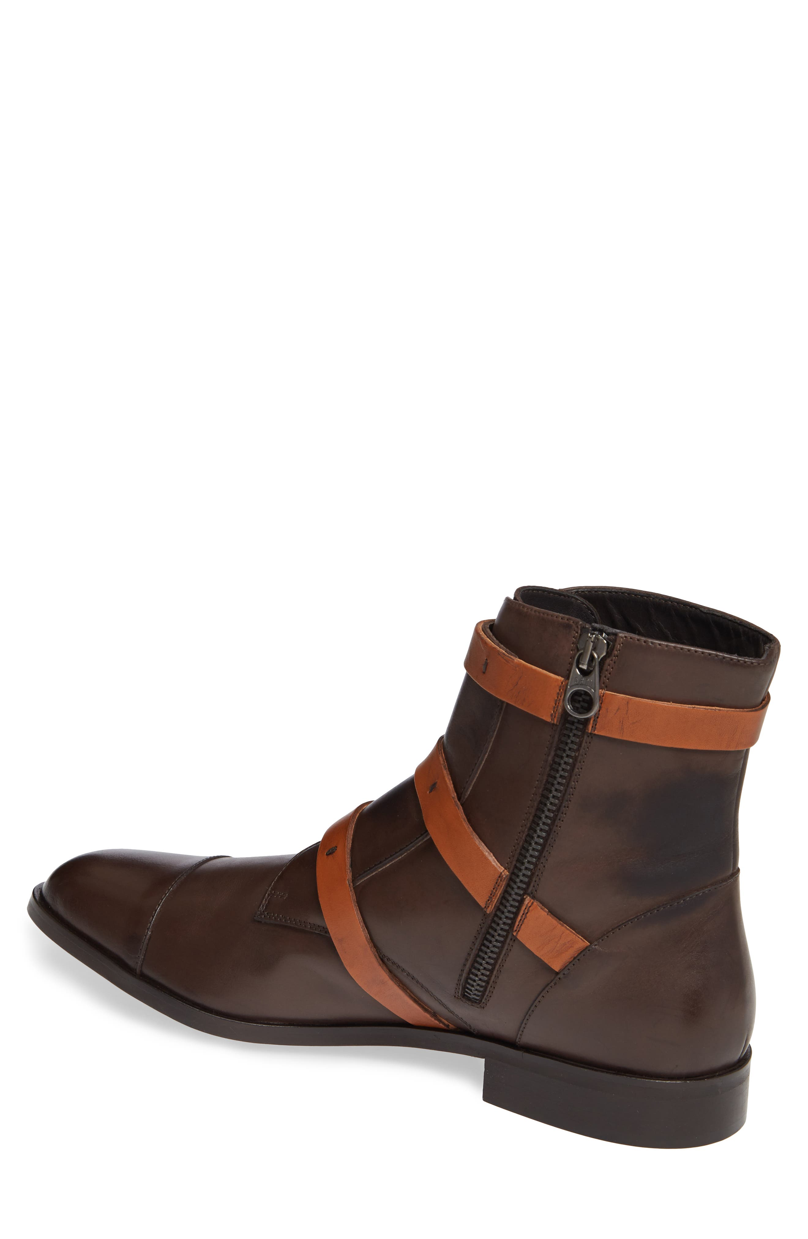 DONALD PLINER,                             Martino Buckle Strap Boot,                             Alternate thumbnail 2, color,                             205