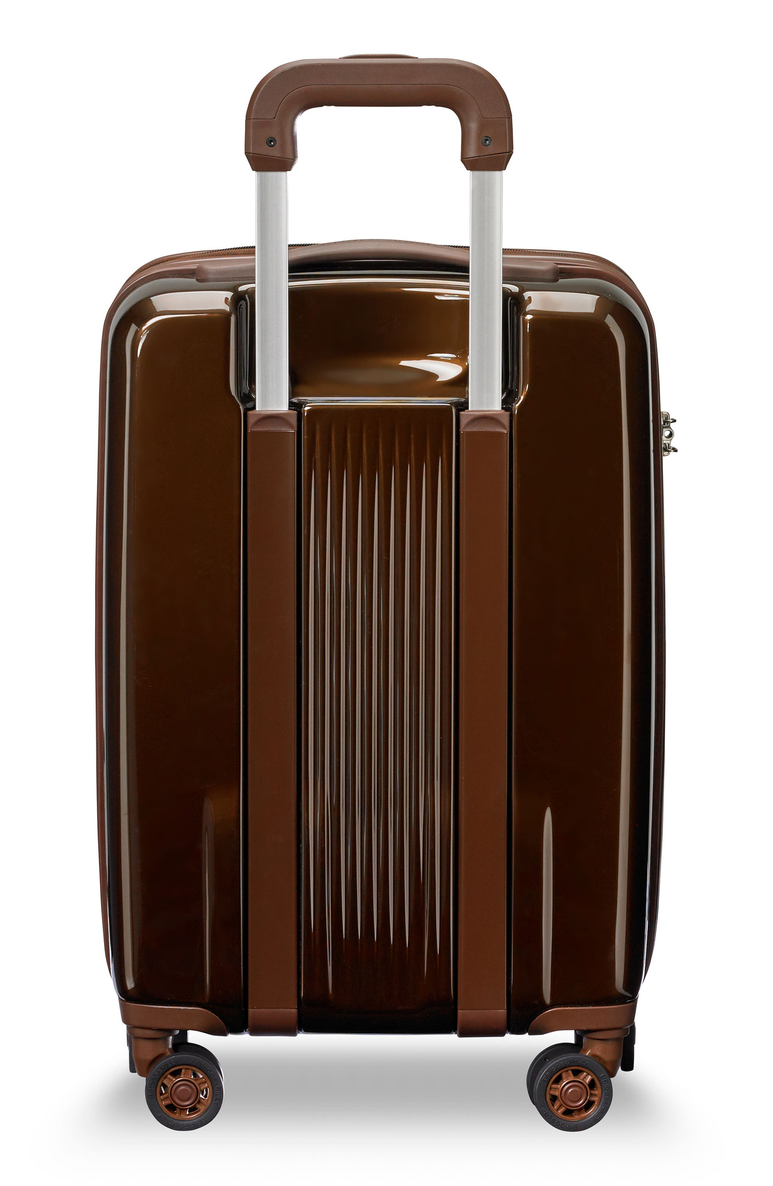 BRIGGS & RILEY,                             Sympatico 21-Inch Expandable Wheeled Carry-On,                             Alternate thumbnail 4, color,                             BRONZE