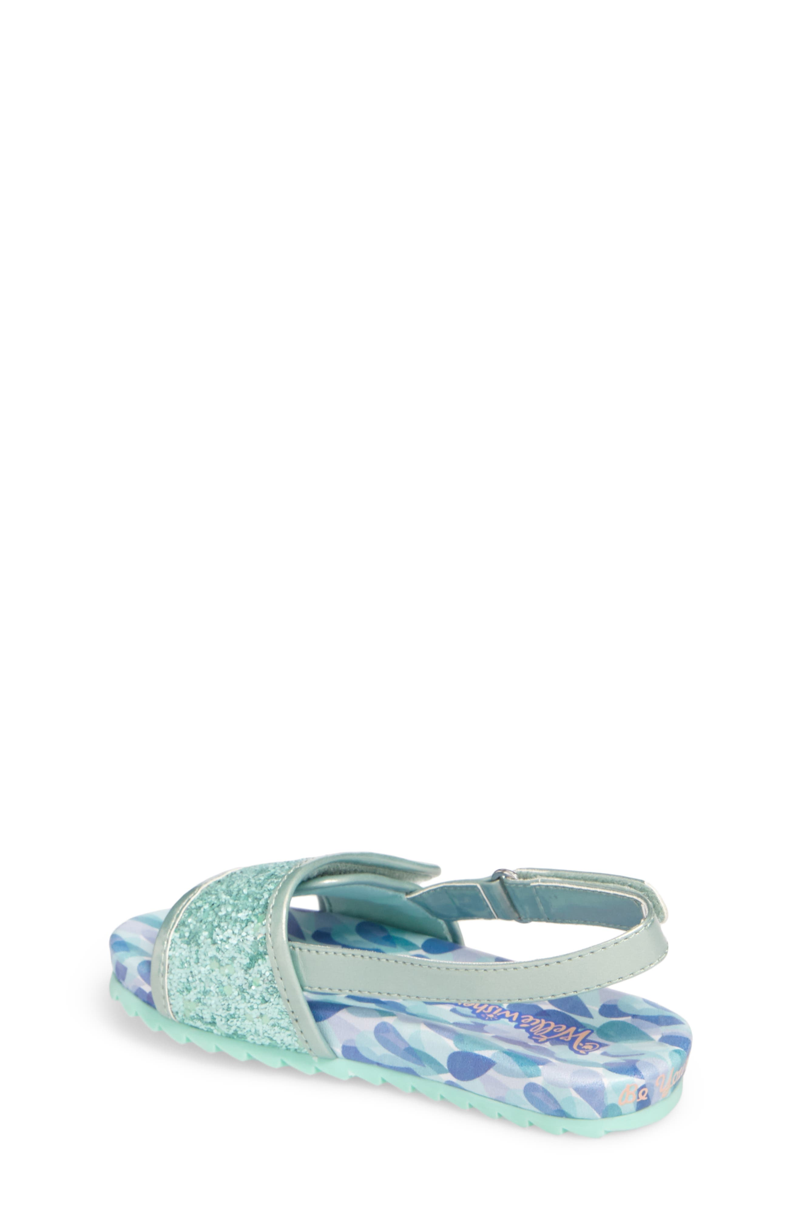 WELLIEWISHERS FROM AMERICAN GIRL,                             Camille Raindrop Strap Sandal,                             Alternate thumbnail 2, color,                             300