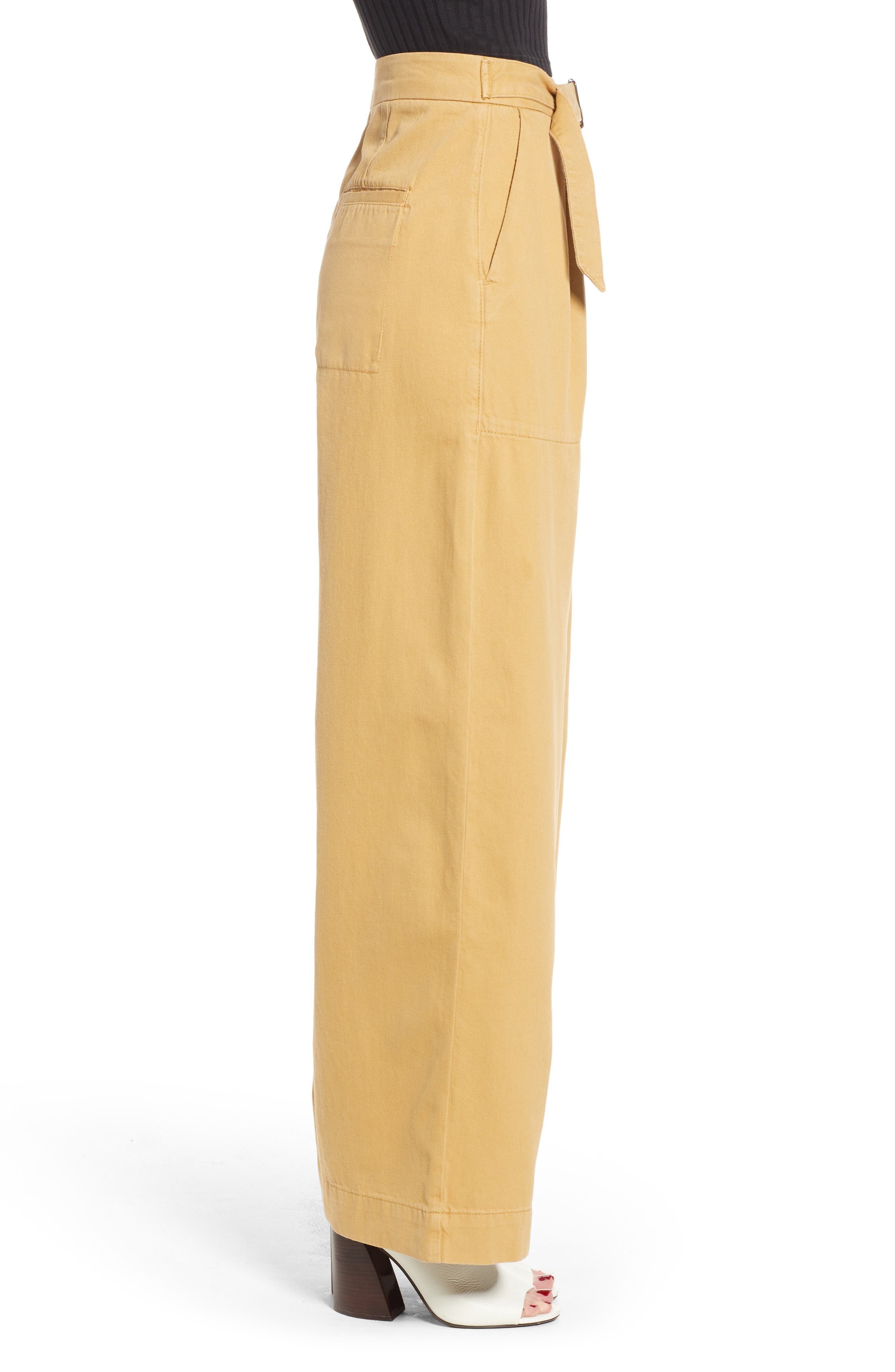 Wonder Wide Chino Trousers,                             Alternate thumbnail 3, color,                             250