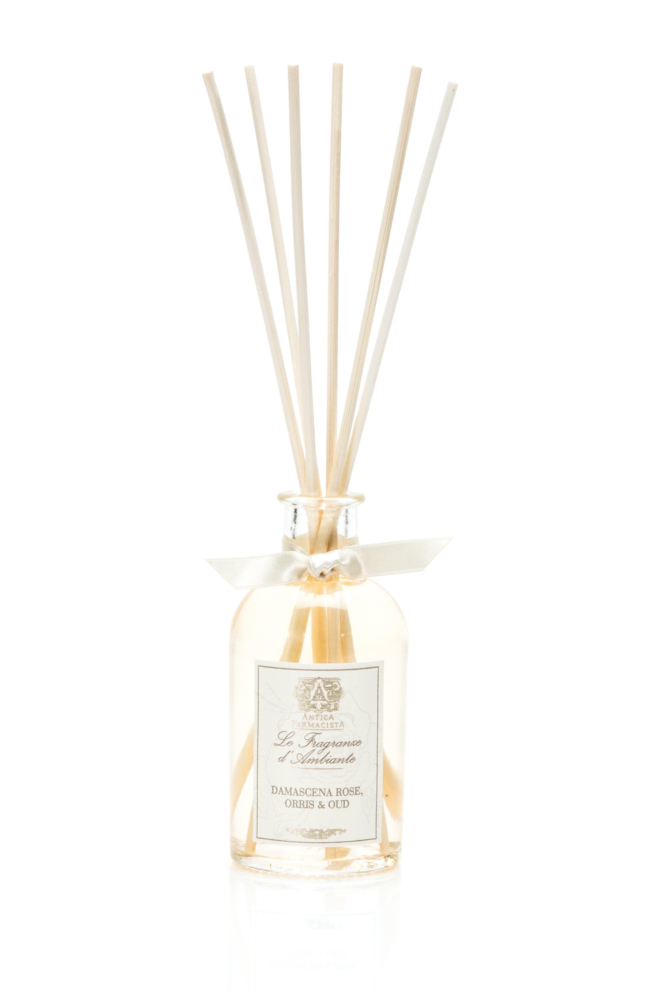 Damascena Rose, Orris & Oud Home Ambiance Perfume,                             Alternate thumbnail 4, color,                             NO COLOR