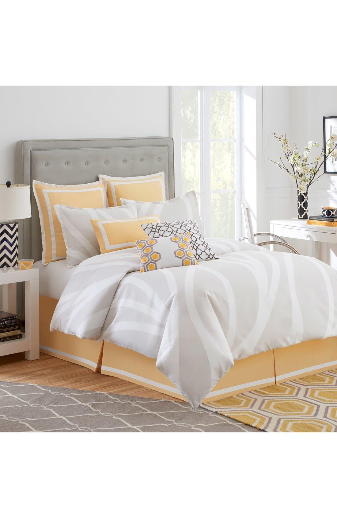 'Groton Swirl' Comforter,                             Main thumbnail 1, color,