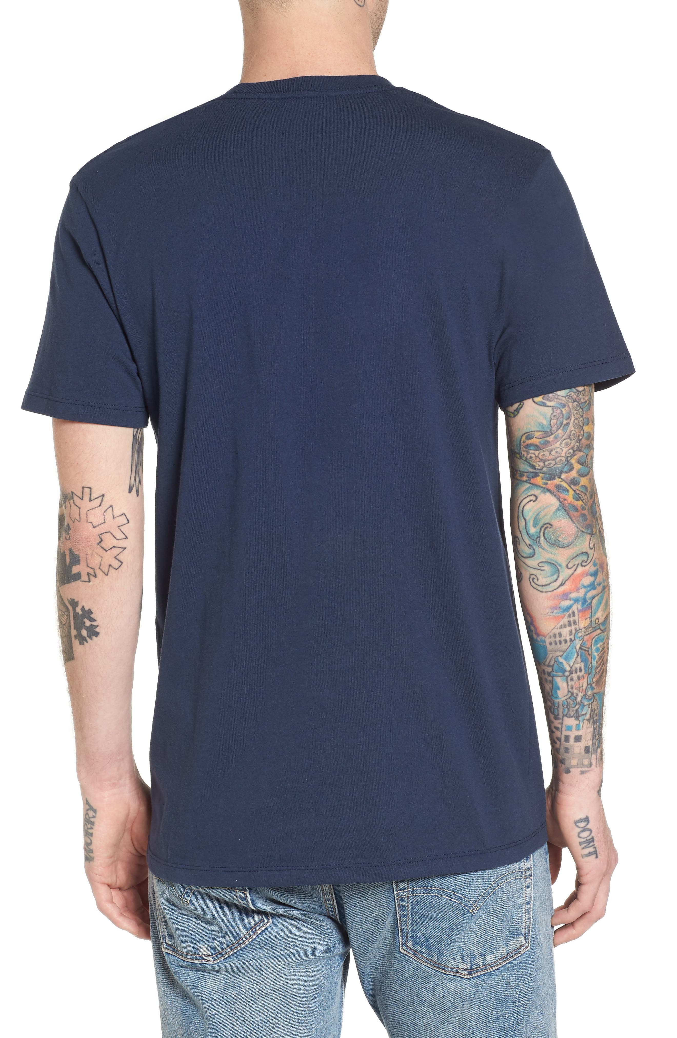 Logo Box T-Shirt,                             Alternate thumbnail 4, color,