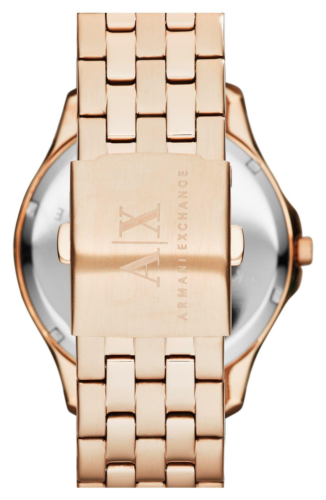 Round Bracelet Watch, 45mm,                             Alternate thumbnail 18, color,