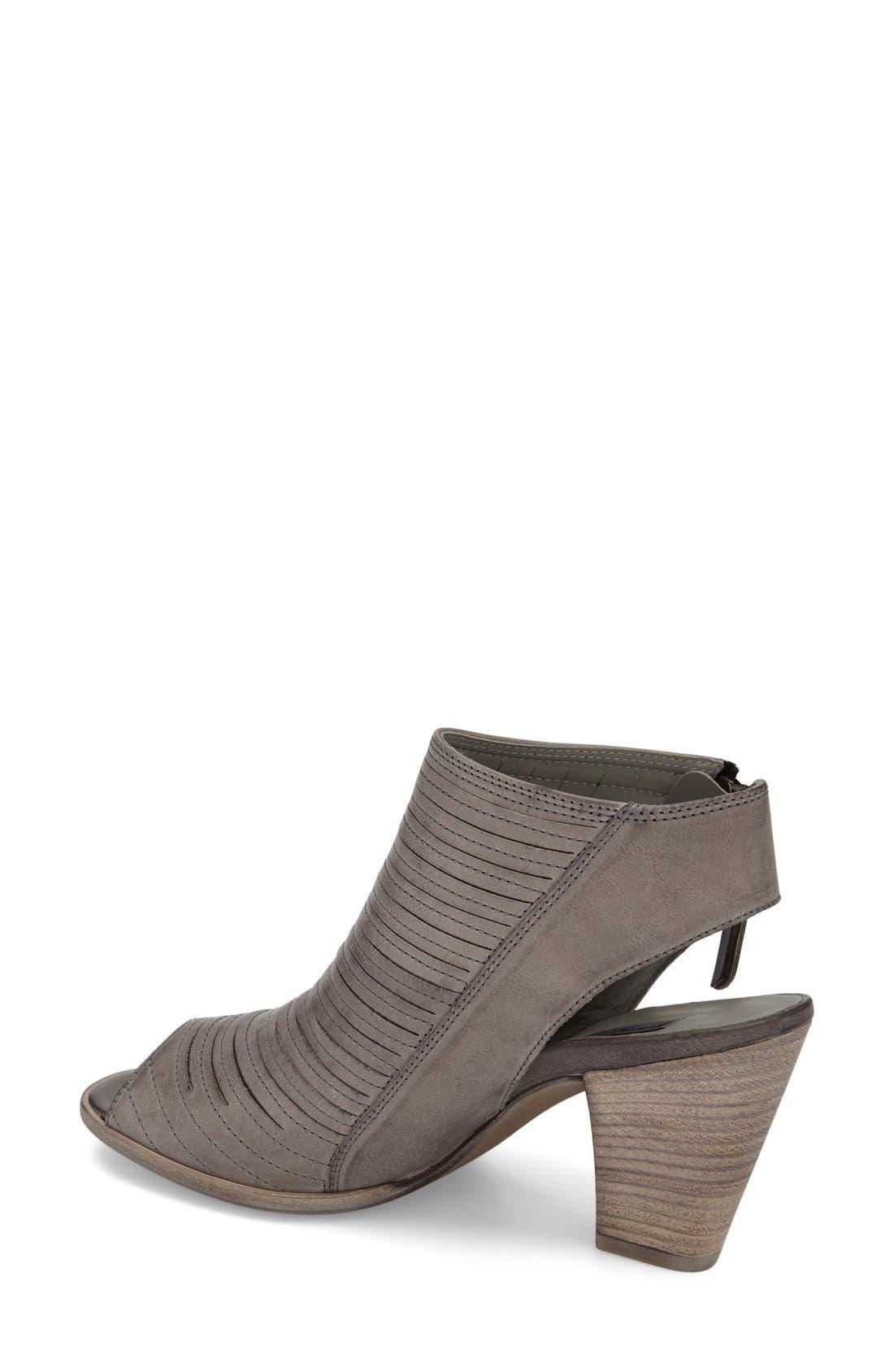 'Cayanne' Leather Peep Toe Sandal,                             Alternate thumbnail 16, color,