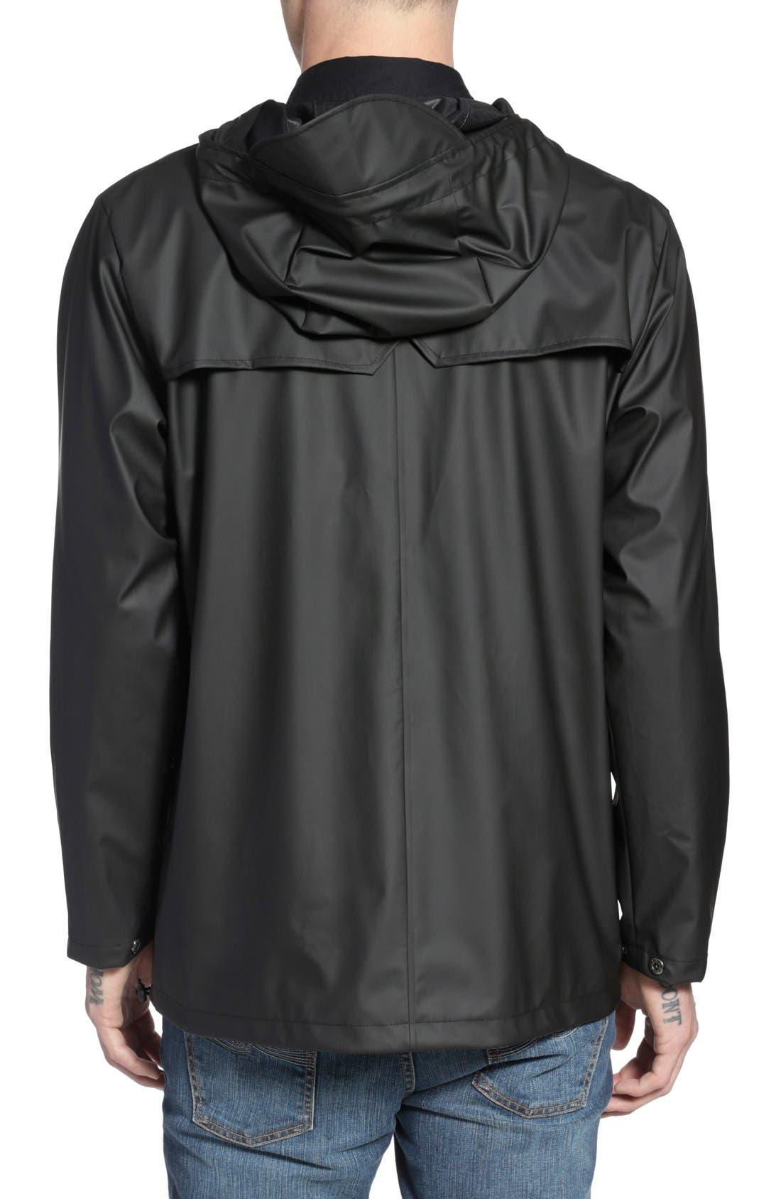 'OC Exclusive' Waterproof Breaker Jacket,                             Alternate thumbnail 4, color,                             001