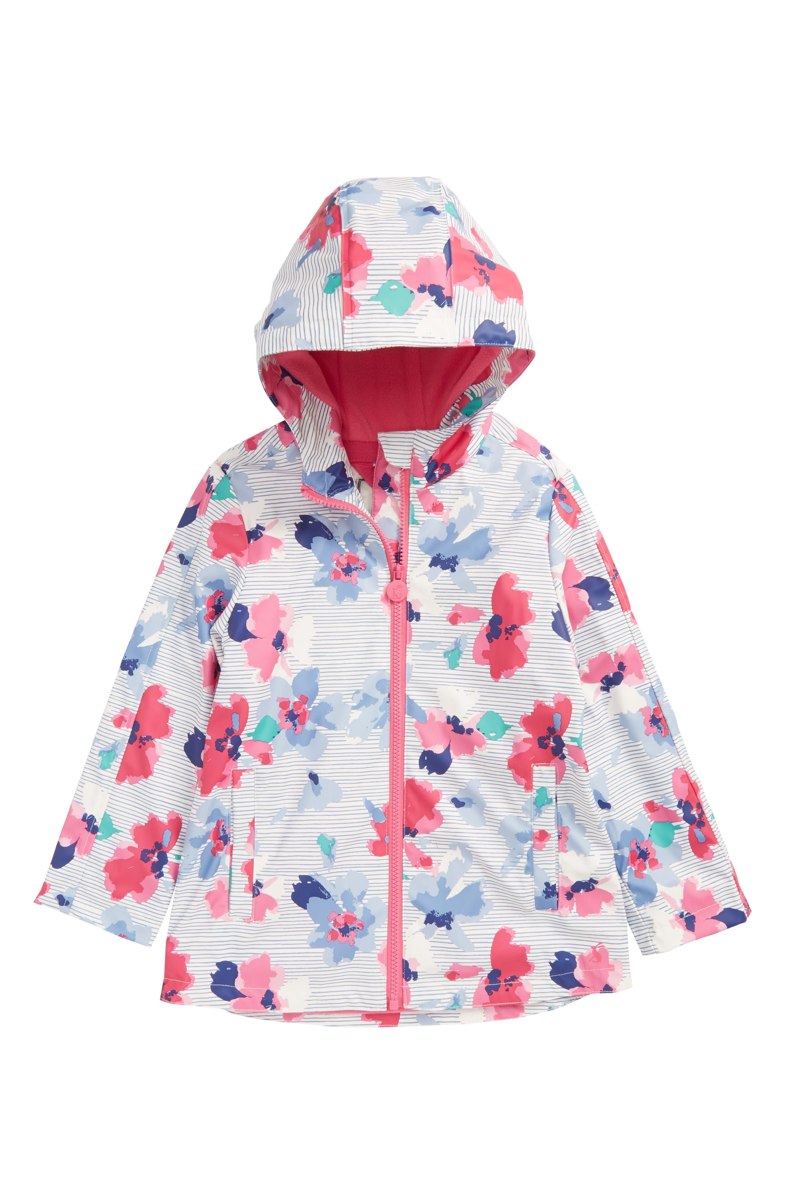 Fleece Lined Rain Jacket,                             Main thumbnail 2, color,
