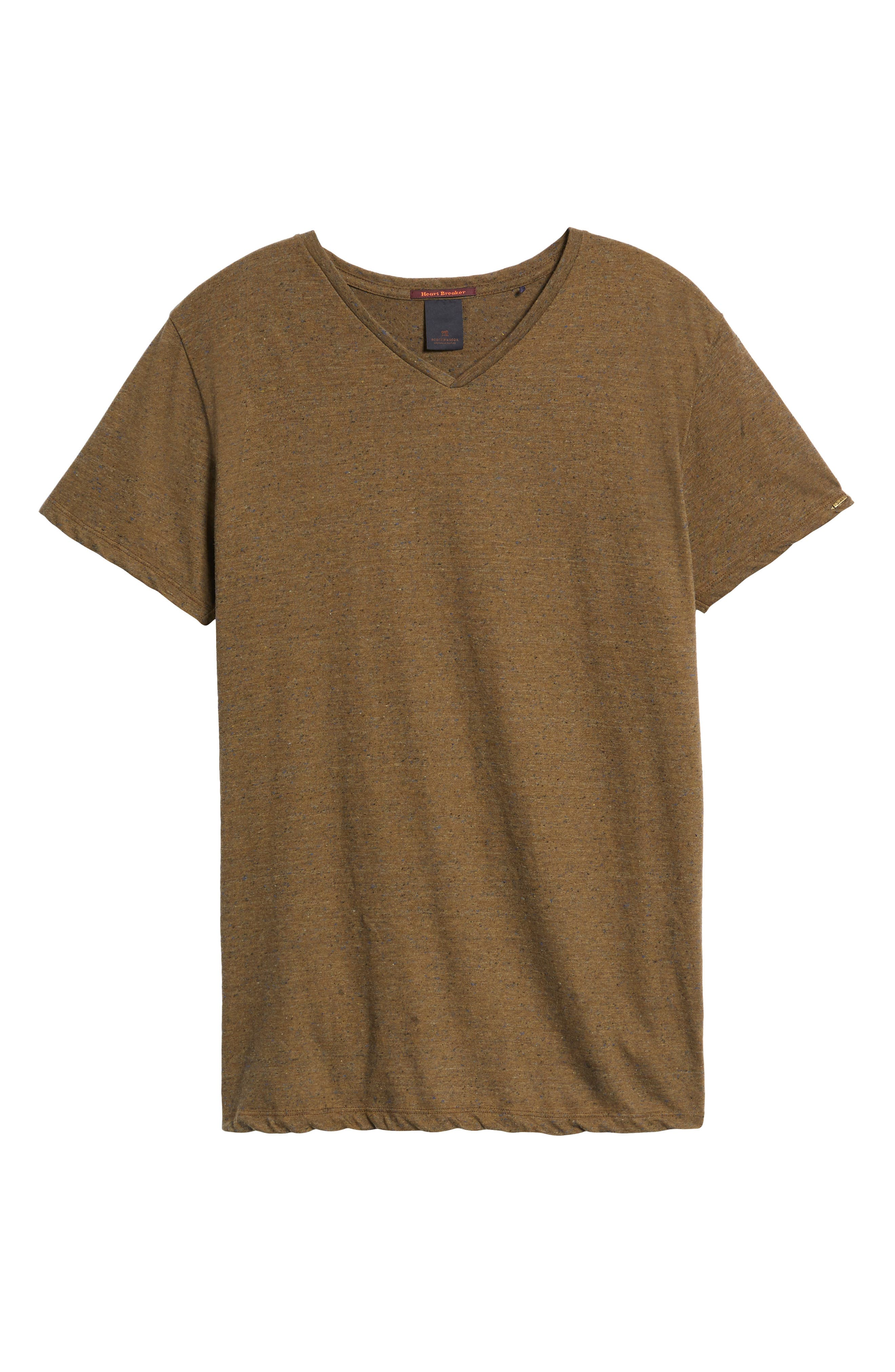 Mélange Jersey T-Shirt,                             Alternate thumbnail 18, color,