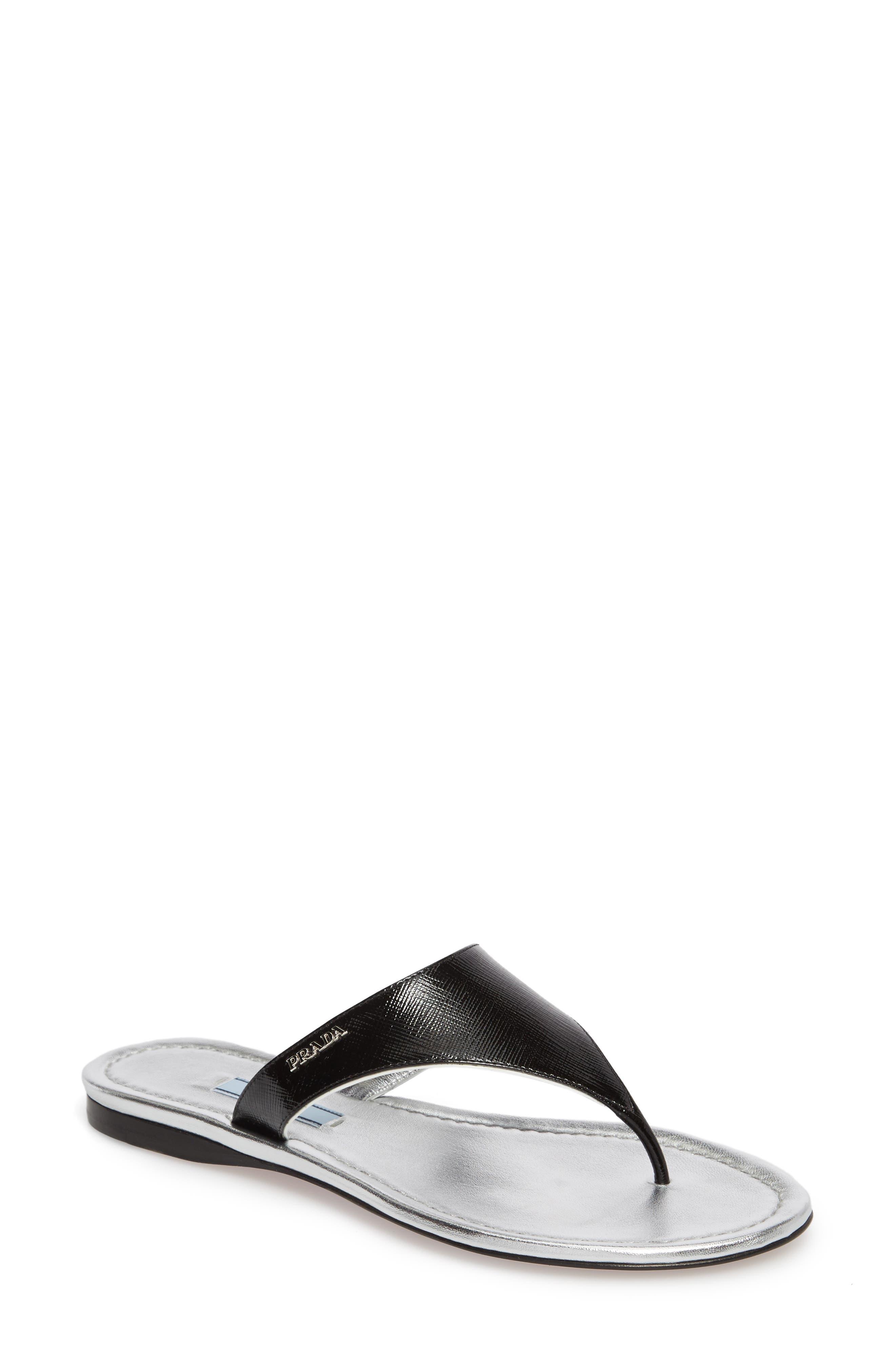 Thong Sandal,                         Main,                         color, 001