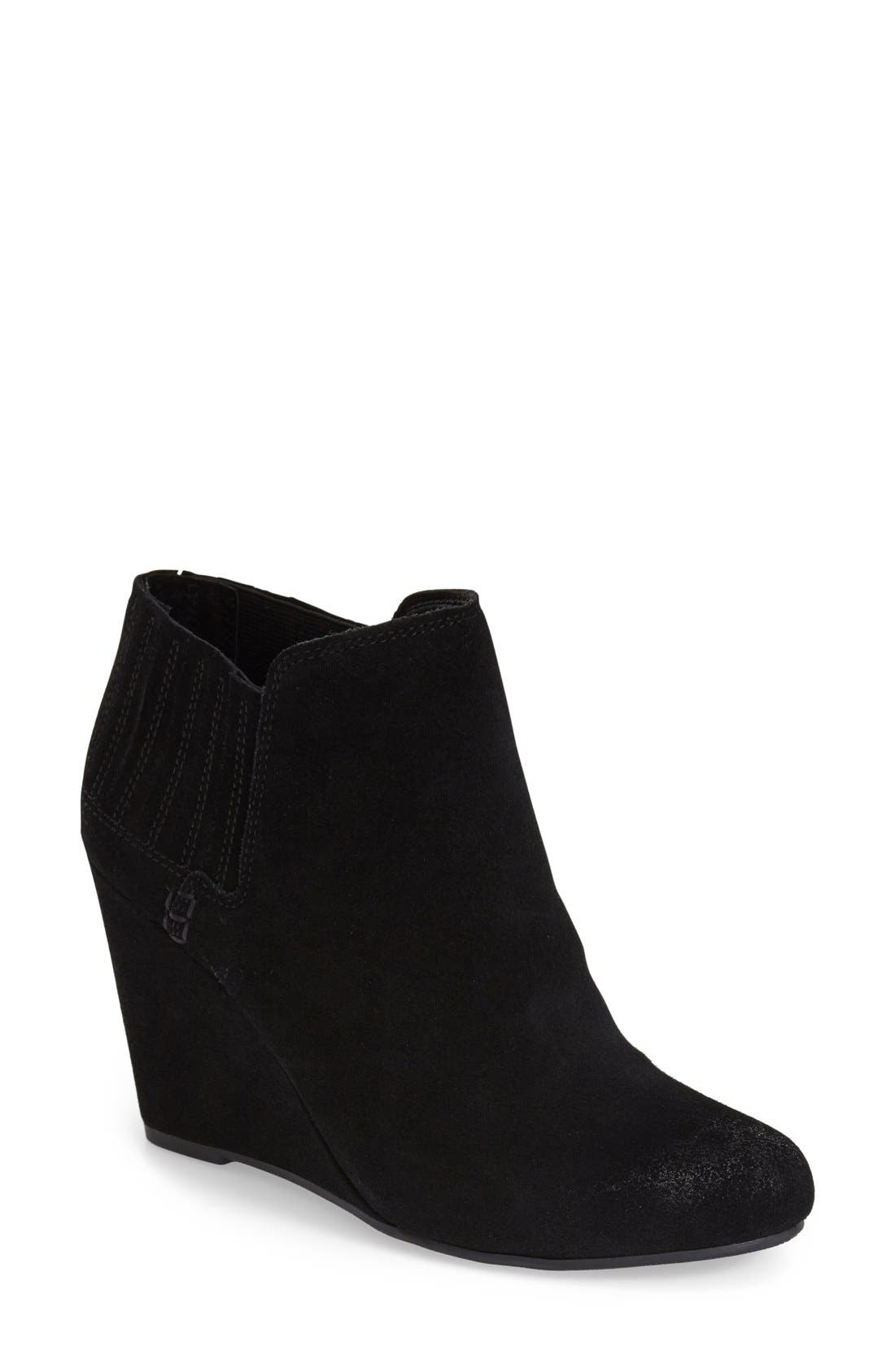 'Gwynn' Wedge Bootie,                         Main,                         color, 001