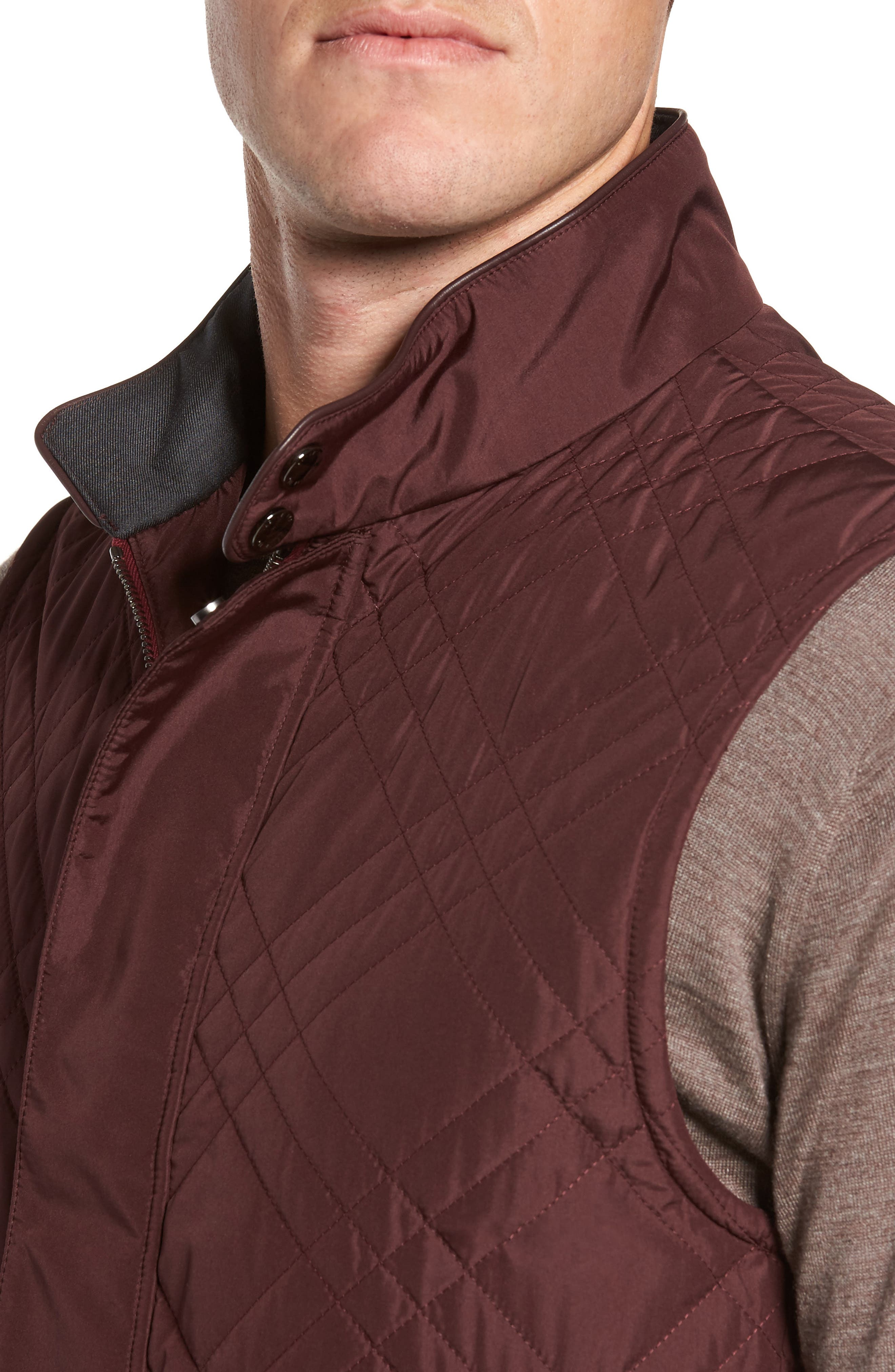 Quilted Field Vest,                             Alternate thumbnail 4, color,                             930