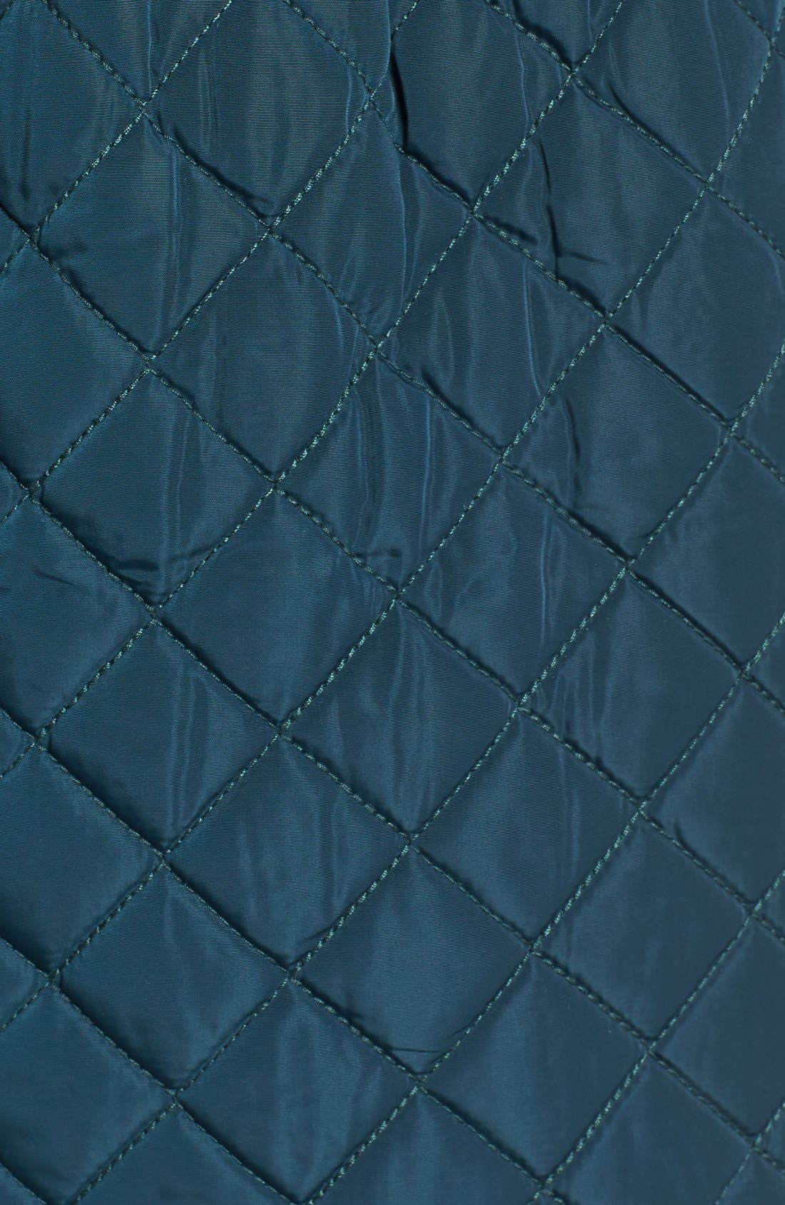 Hooded Quilted Jacket,                             Alternate thumbnail 12, color,