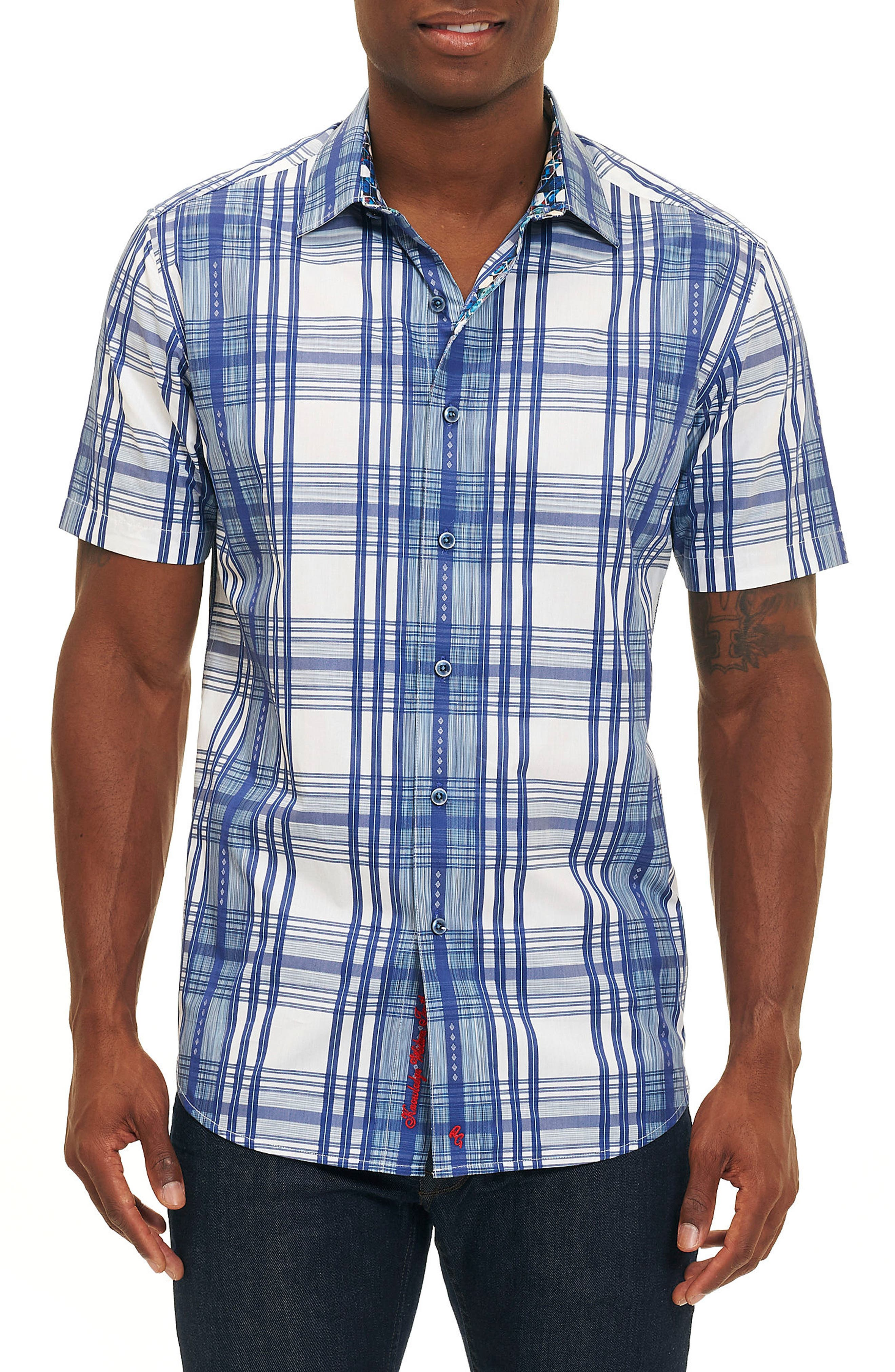 East Timor Plaid Sport Shirt,                         Main,                         color, 400