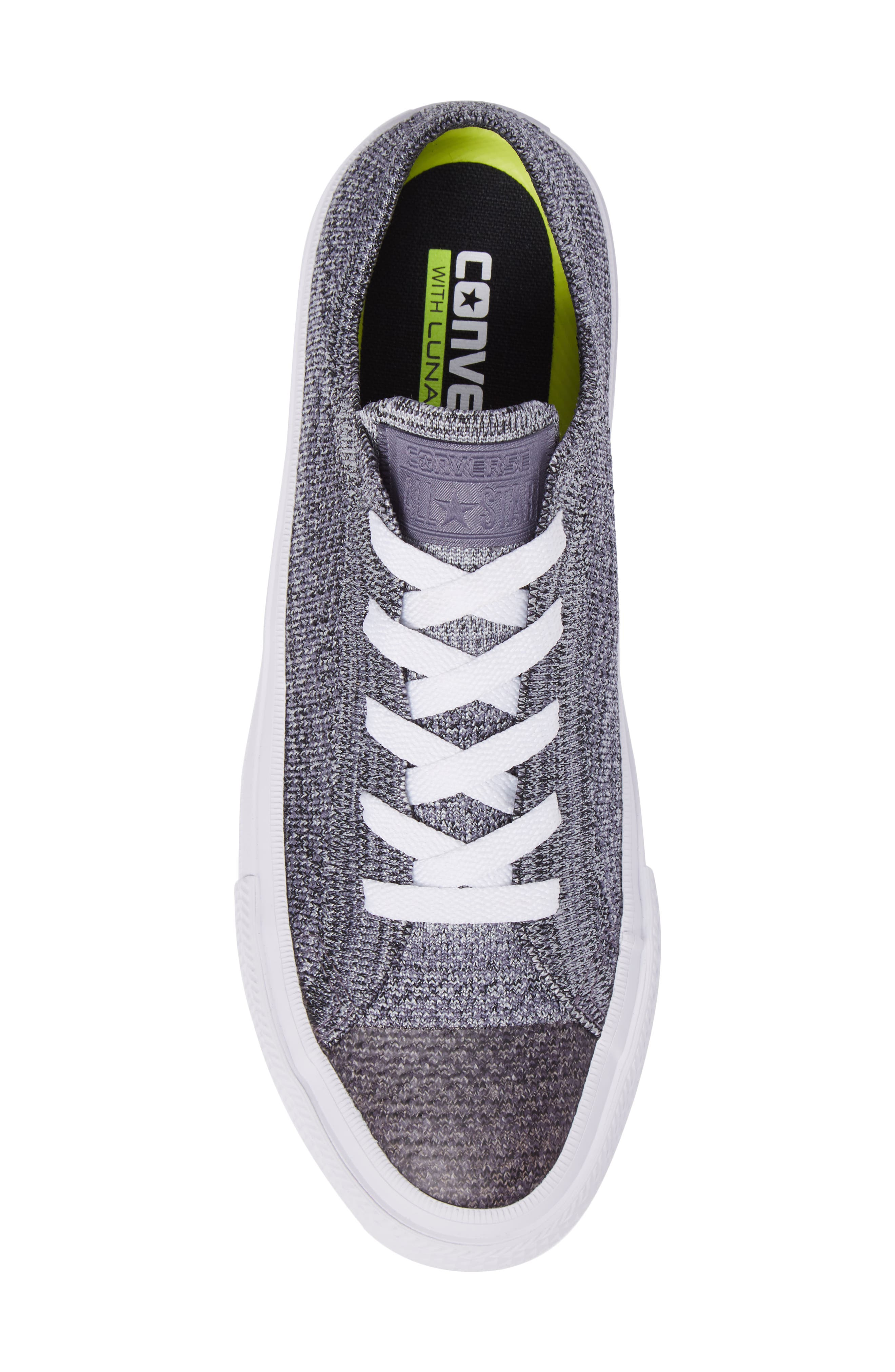 All Star<sup>®</sup> Flyknit Low Sneaker,                             Alternate thumbnail 5, color,                             027