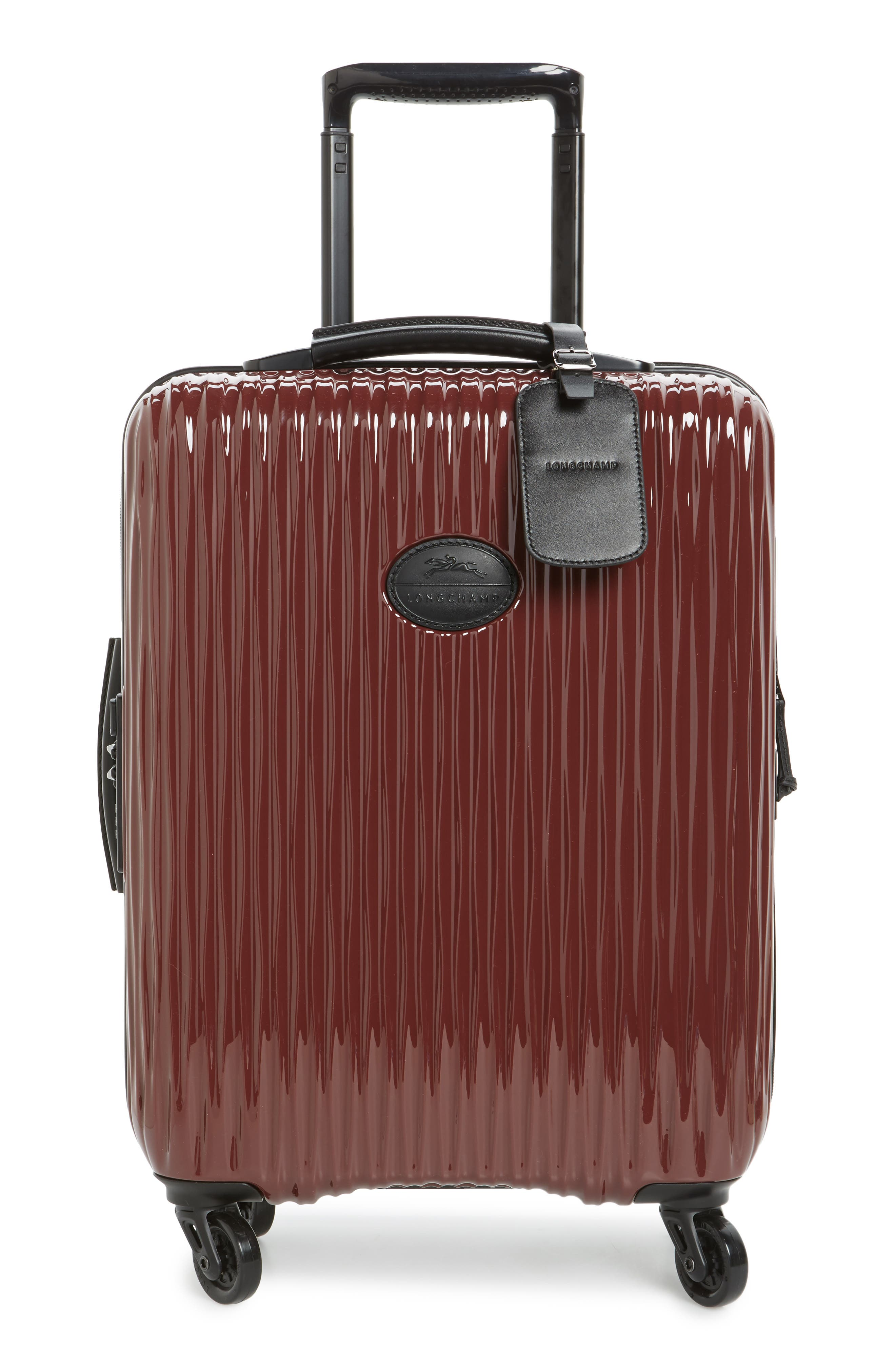 Ruban 22-Inch Four-Wheel Hard Shell Suitcase,                             Main thumbnail 1, color,                             001
