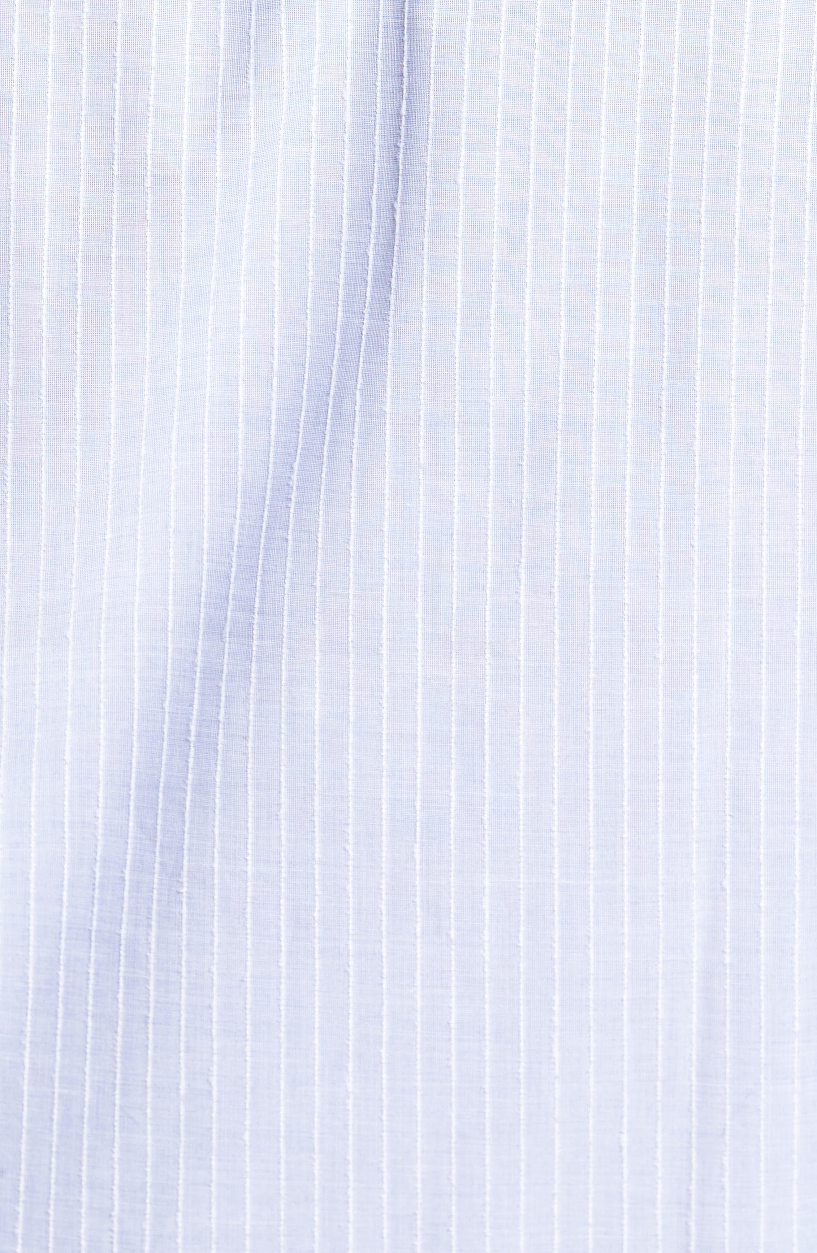 Cejar Stripe Sport Shirt,                             Alternate thumbnail 5, color,                             433