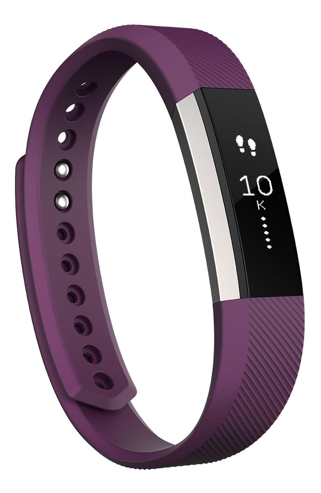 'Alta' Wireless Fitness Tracker,                         Main,                         color, PLUM