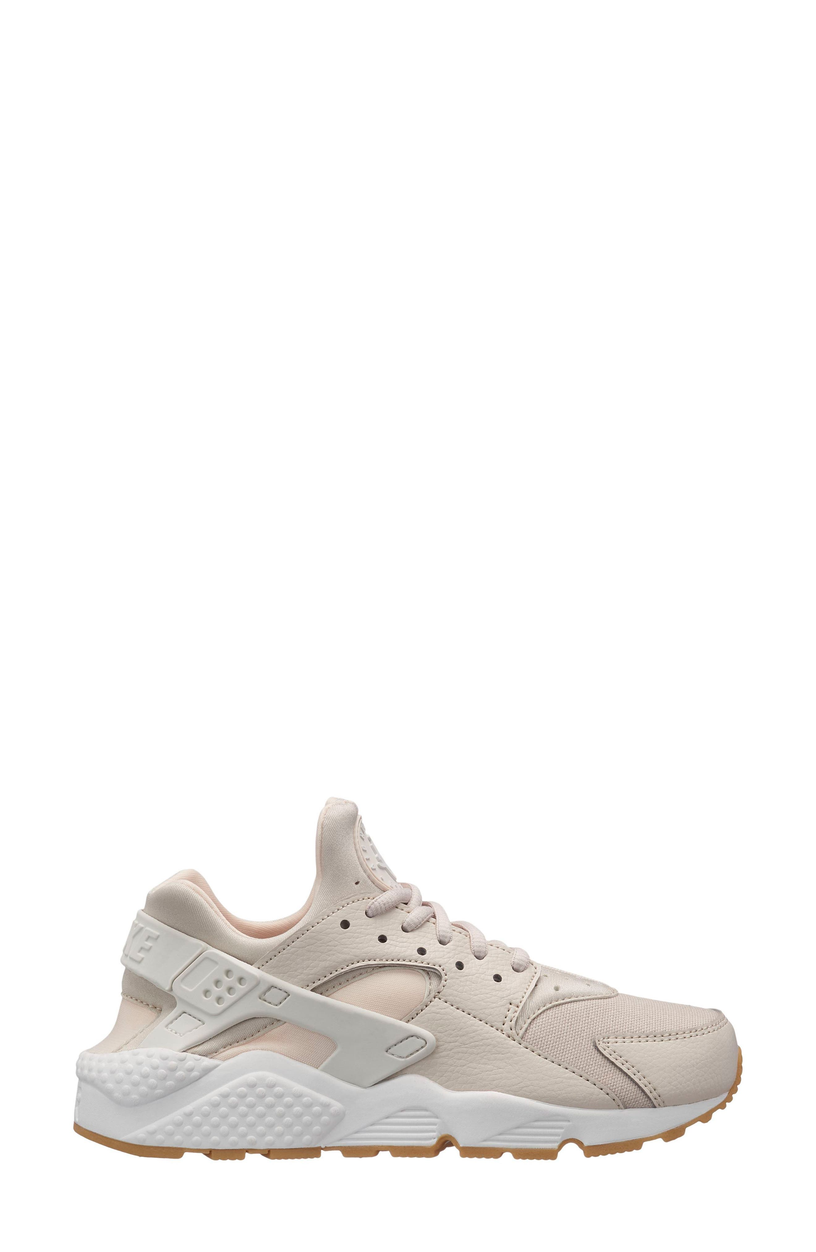 Air Huarache Run Sneaker,                             Main thumbnail 1, color,                             GREY
