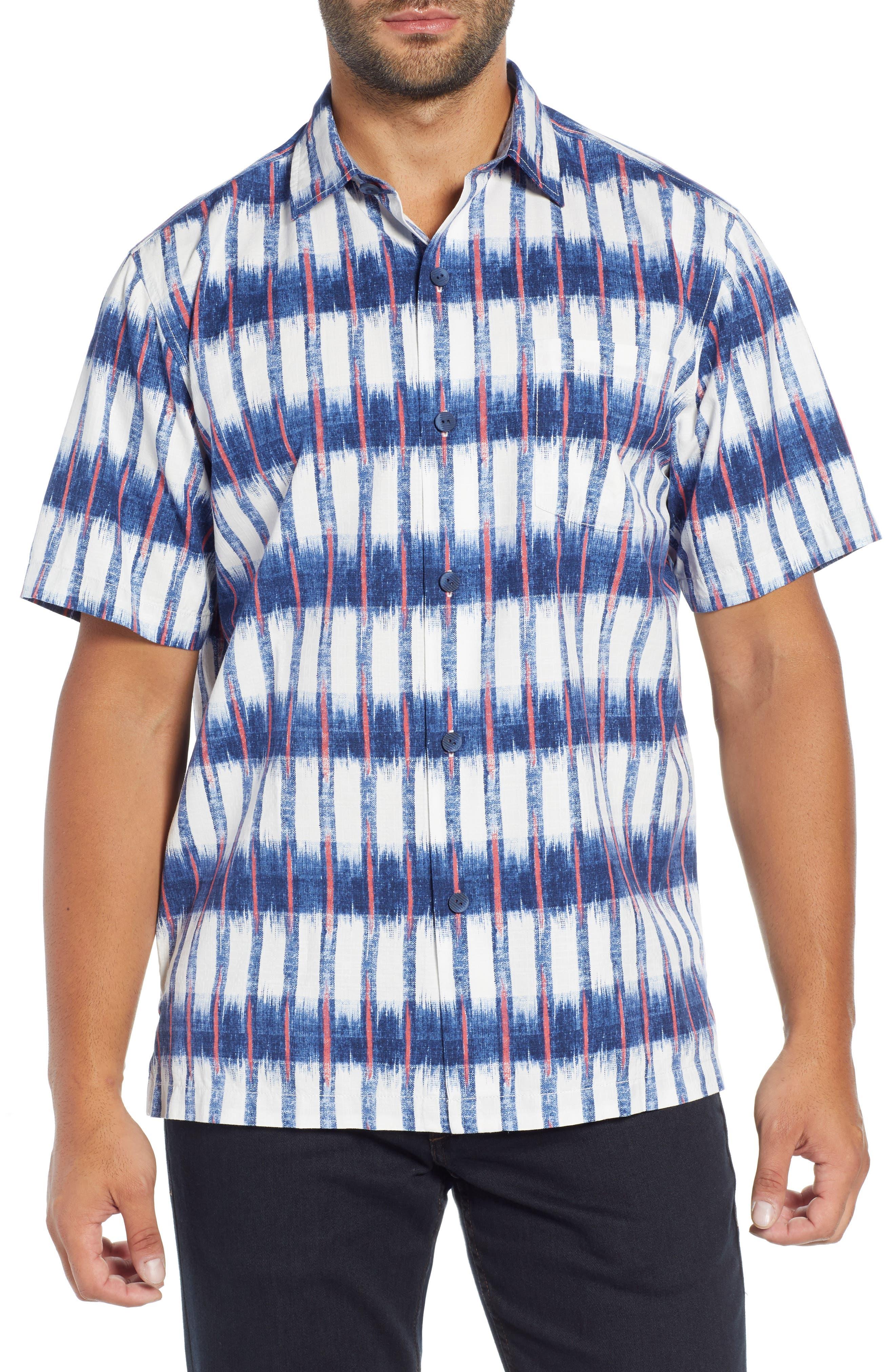 Fresco Falls Regular Fit Sport Shirt,                             Main thumbnail 1, color,                             DOCKSIDE BLUE