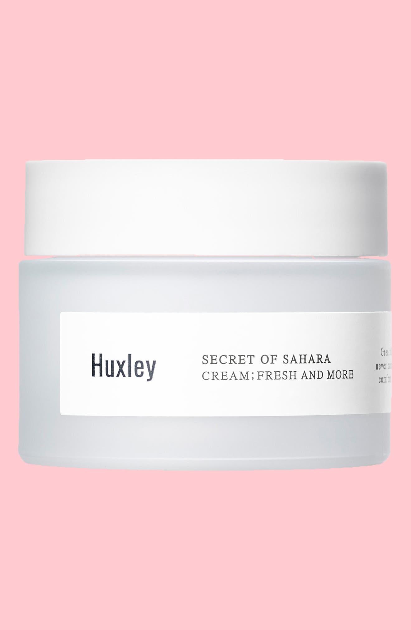 Secret of Sahara - Fresh & More Moisturizing Cream,                             Main thumbnail 1, color,                             NONE