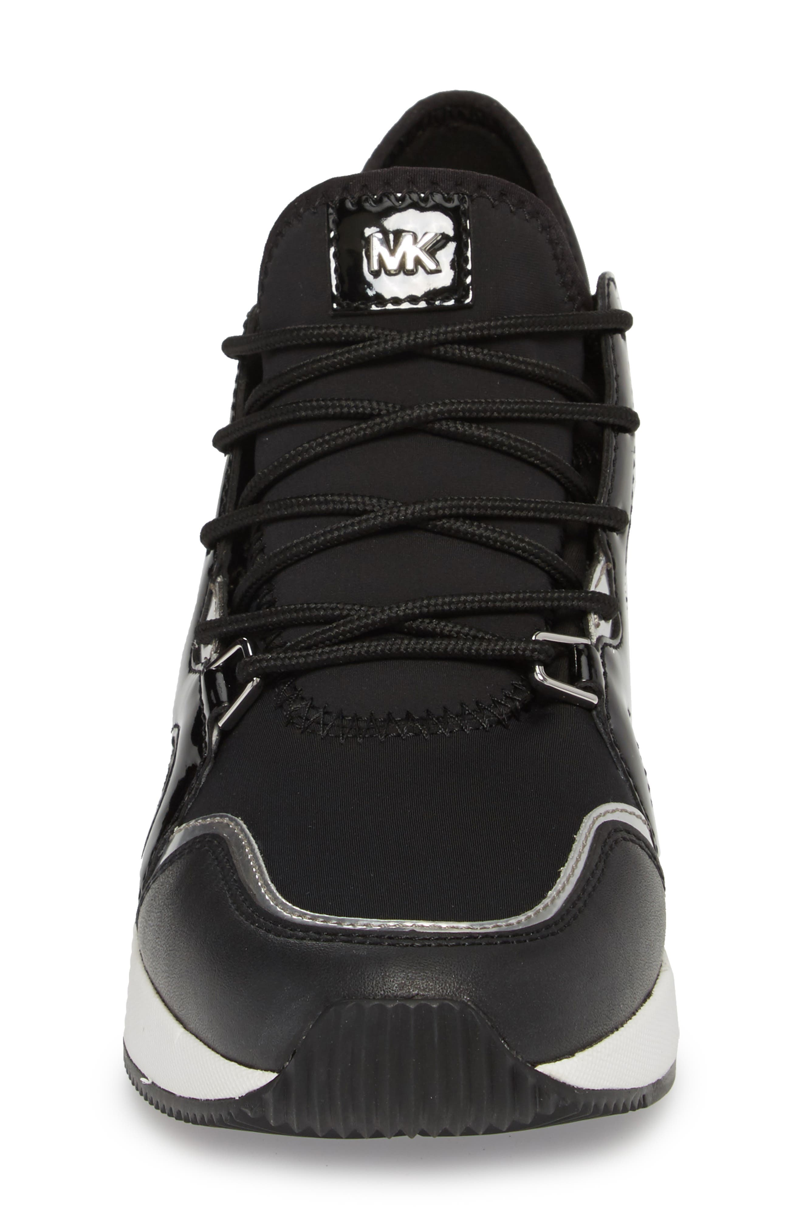 Scout Wedge Sneaker,                             Alternate thumbnail 4, color,                             002